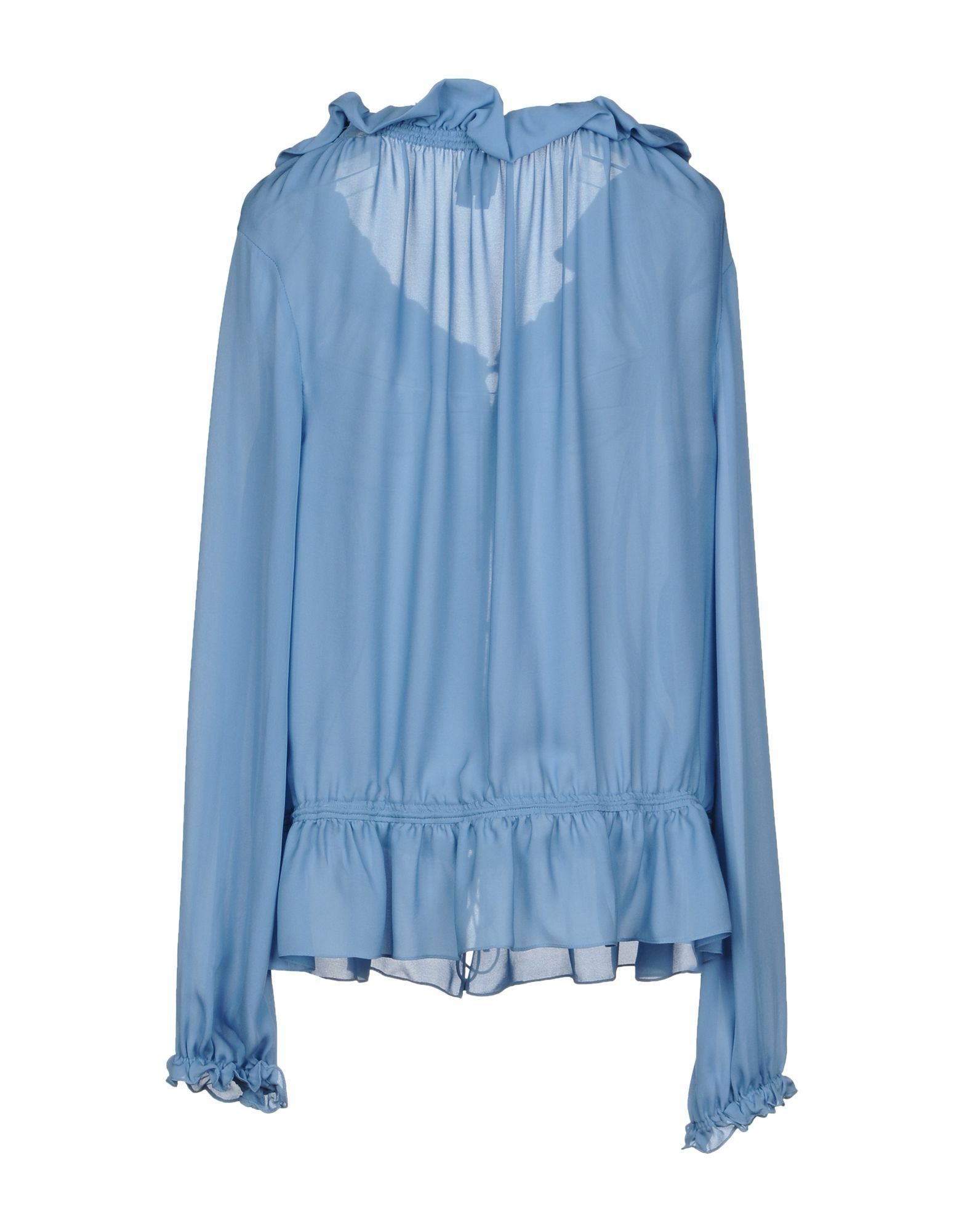 Haute Hippie Azure Silk Blouse