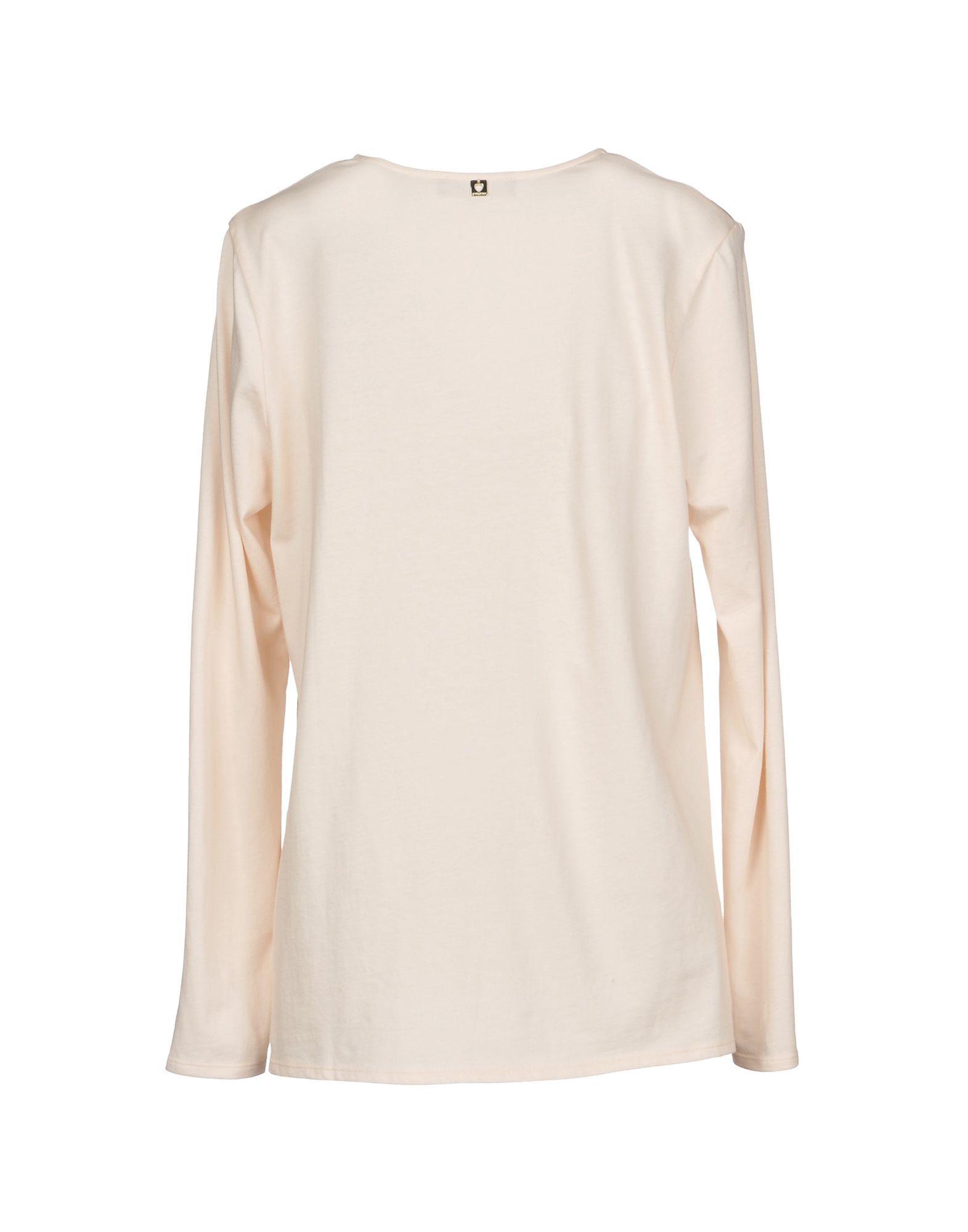 SHIRTS Twinset Light pink Woman Silk