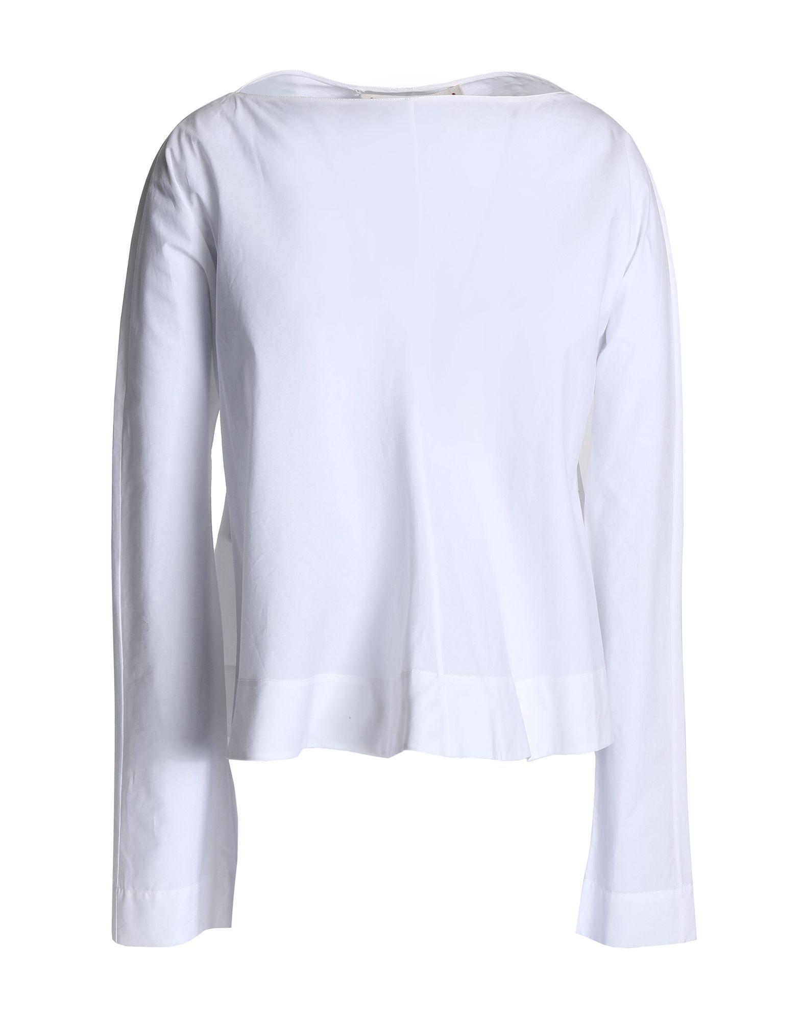 Marni White Cotton Blouse