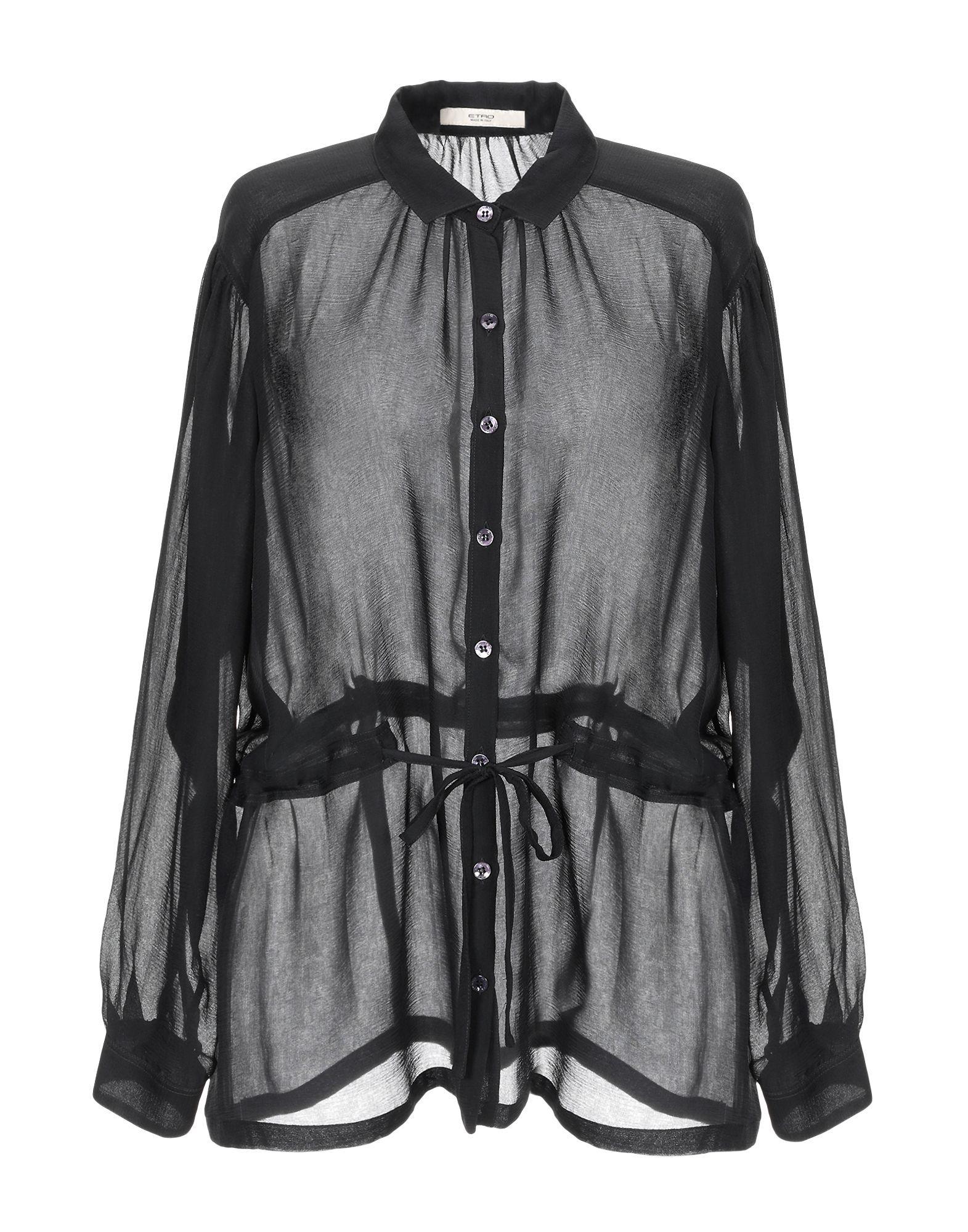 Etro Black Silk Shirt