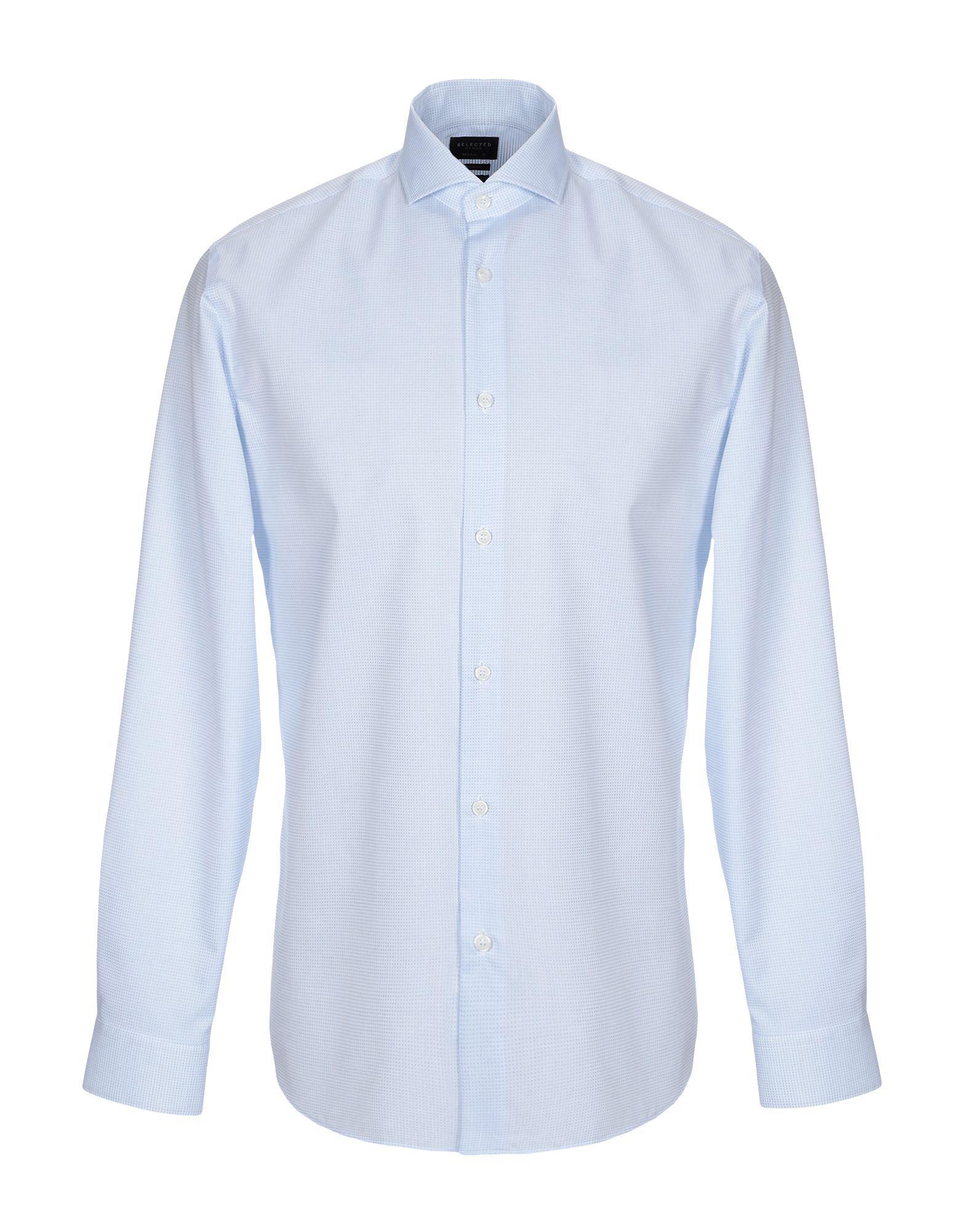 Selected Homme Azure Cotton Shirt
