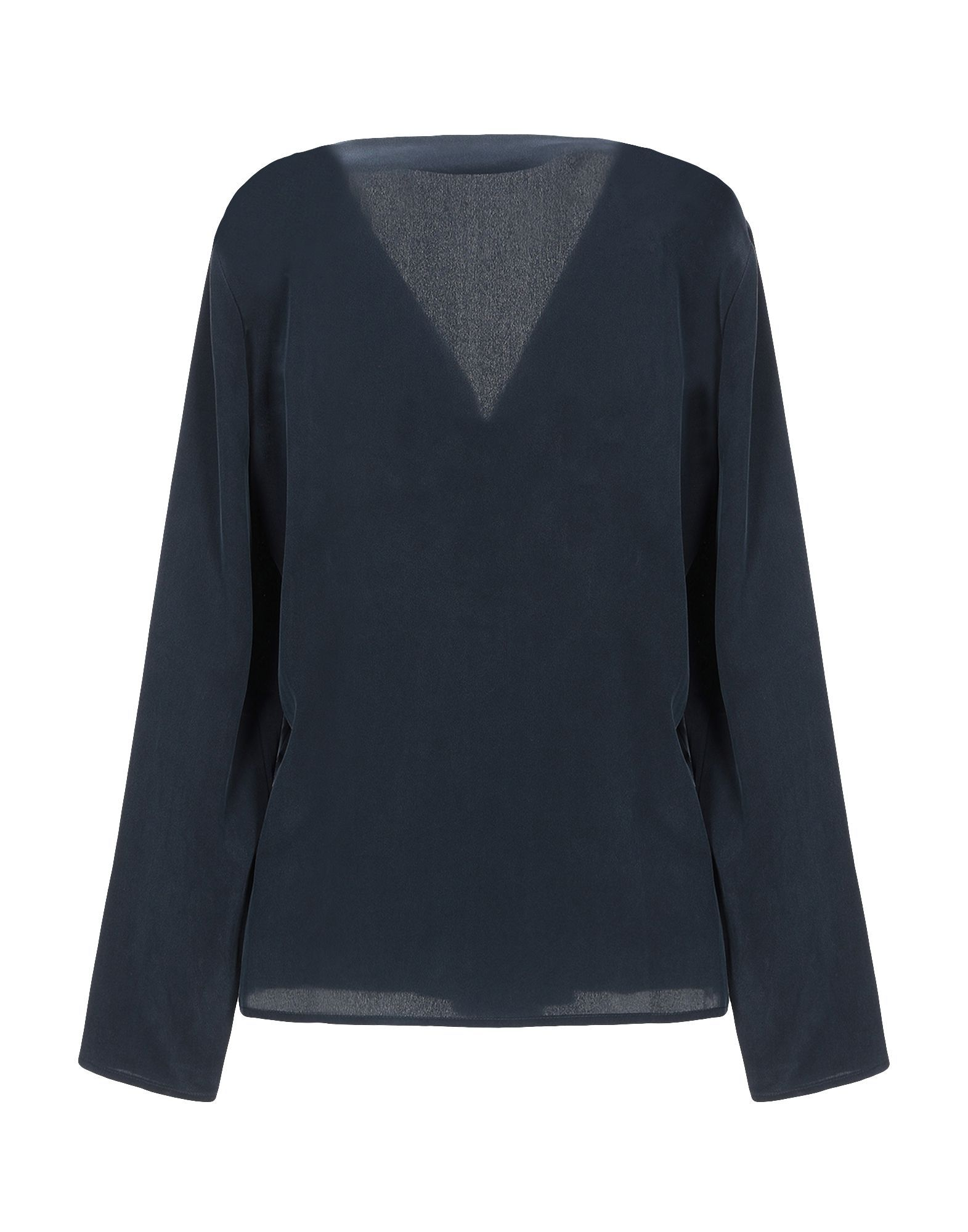 Stefanel Dark Blue Silk Blouse