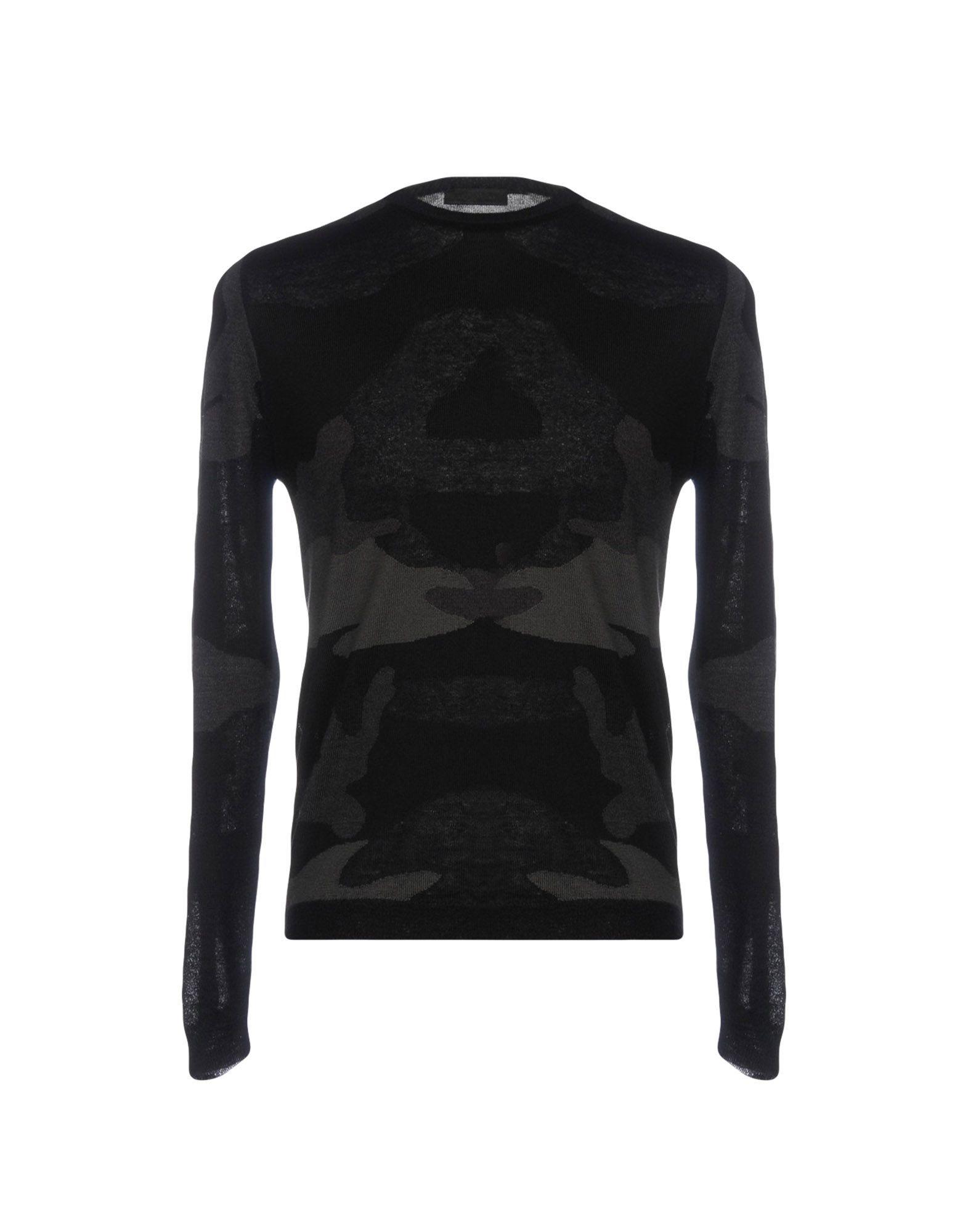 Prada Black Virgin Wool Jumper