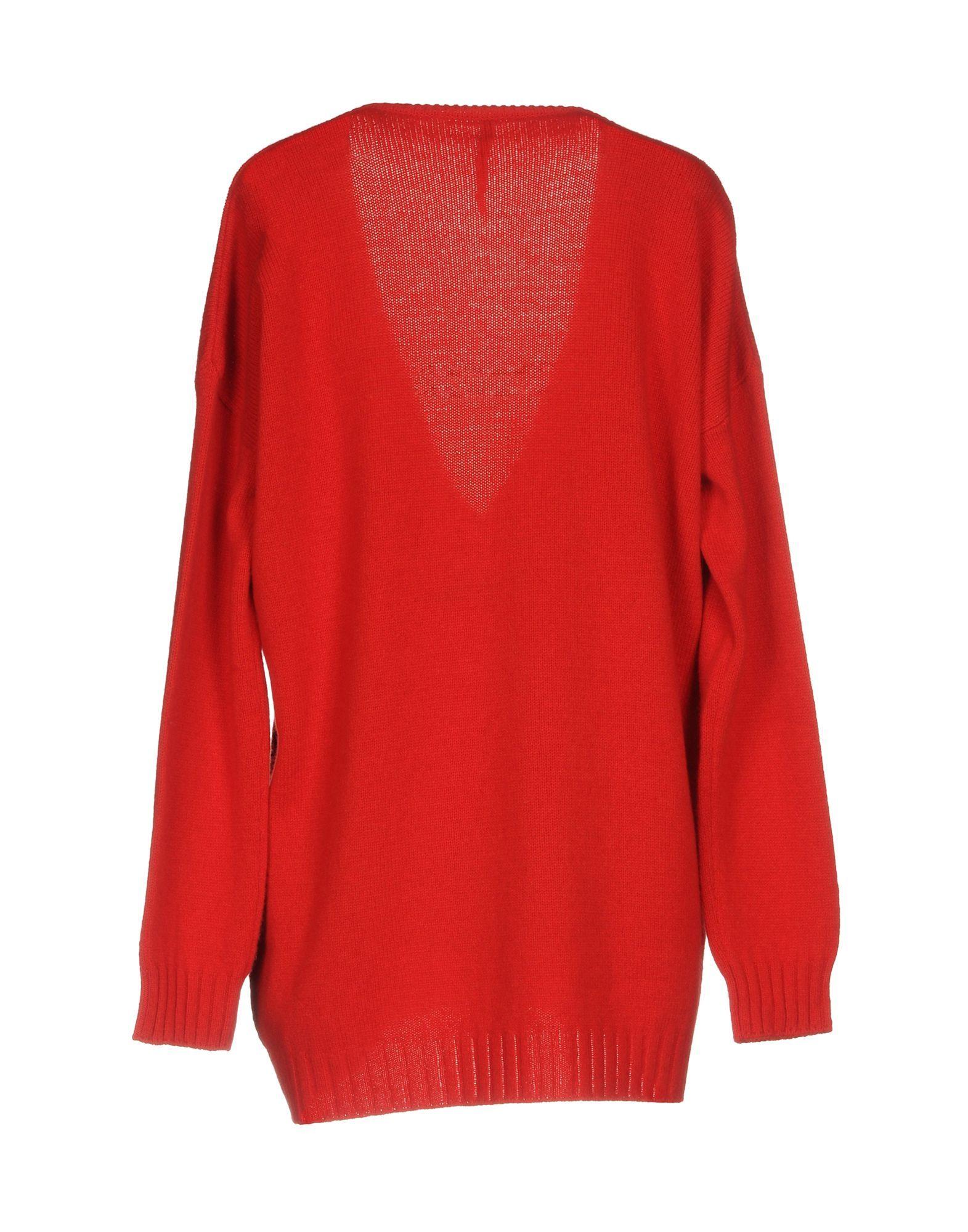 KNITWEAR Manila Grace Red Woman Wool