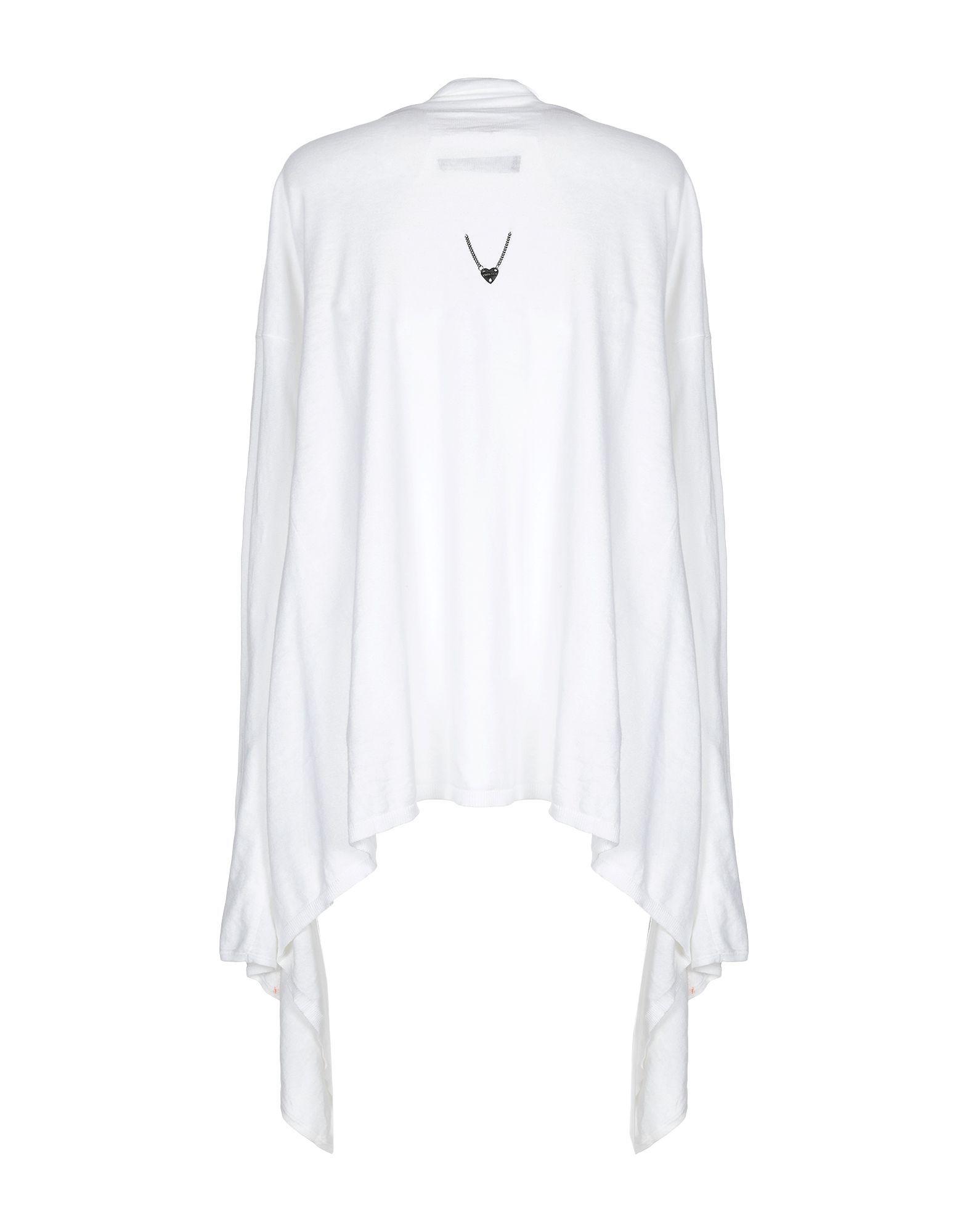 Twinset White Cotton Knit