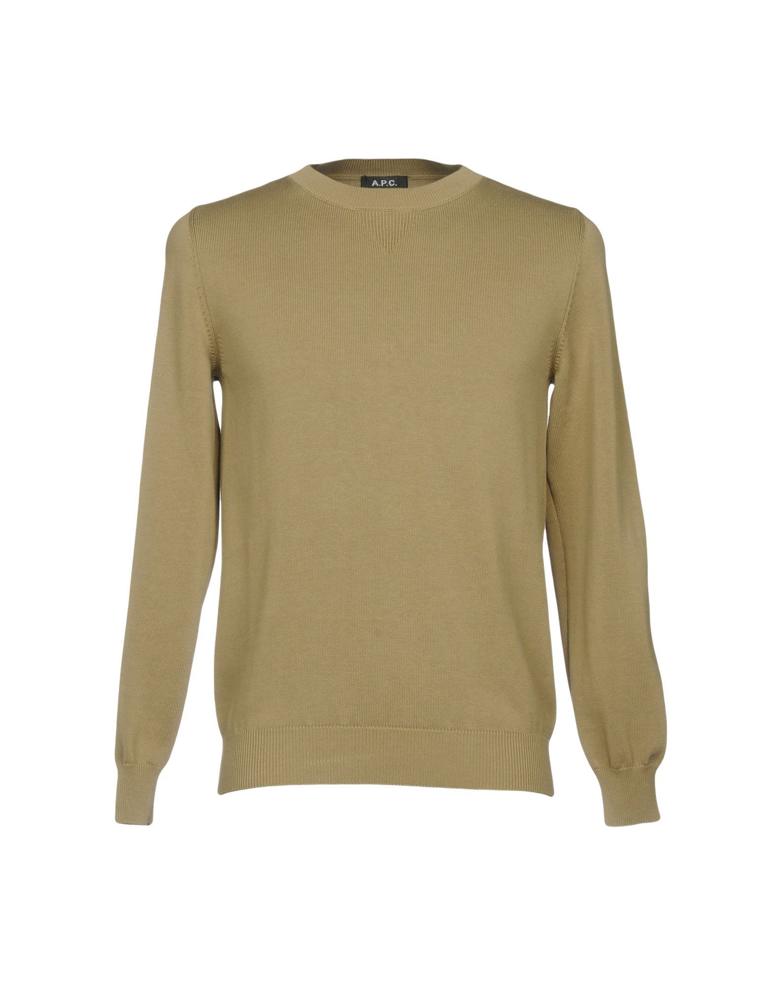 A.P.C. Man Military green Jumpers