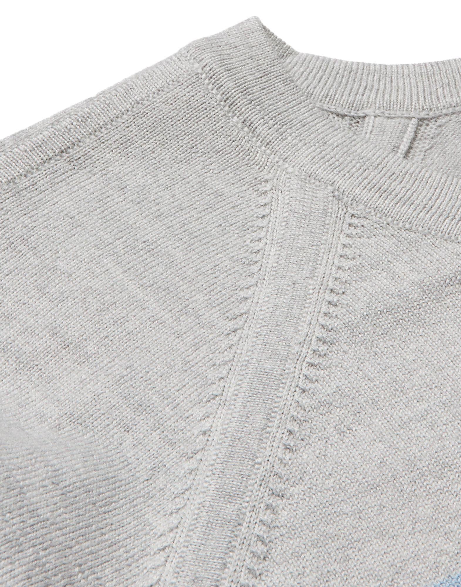 Enlist Grey Merinos Wool Pullover
