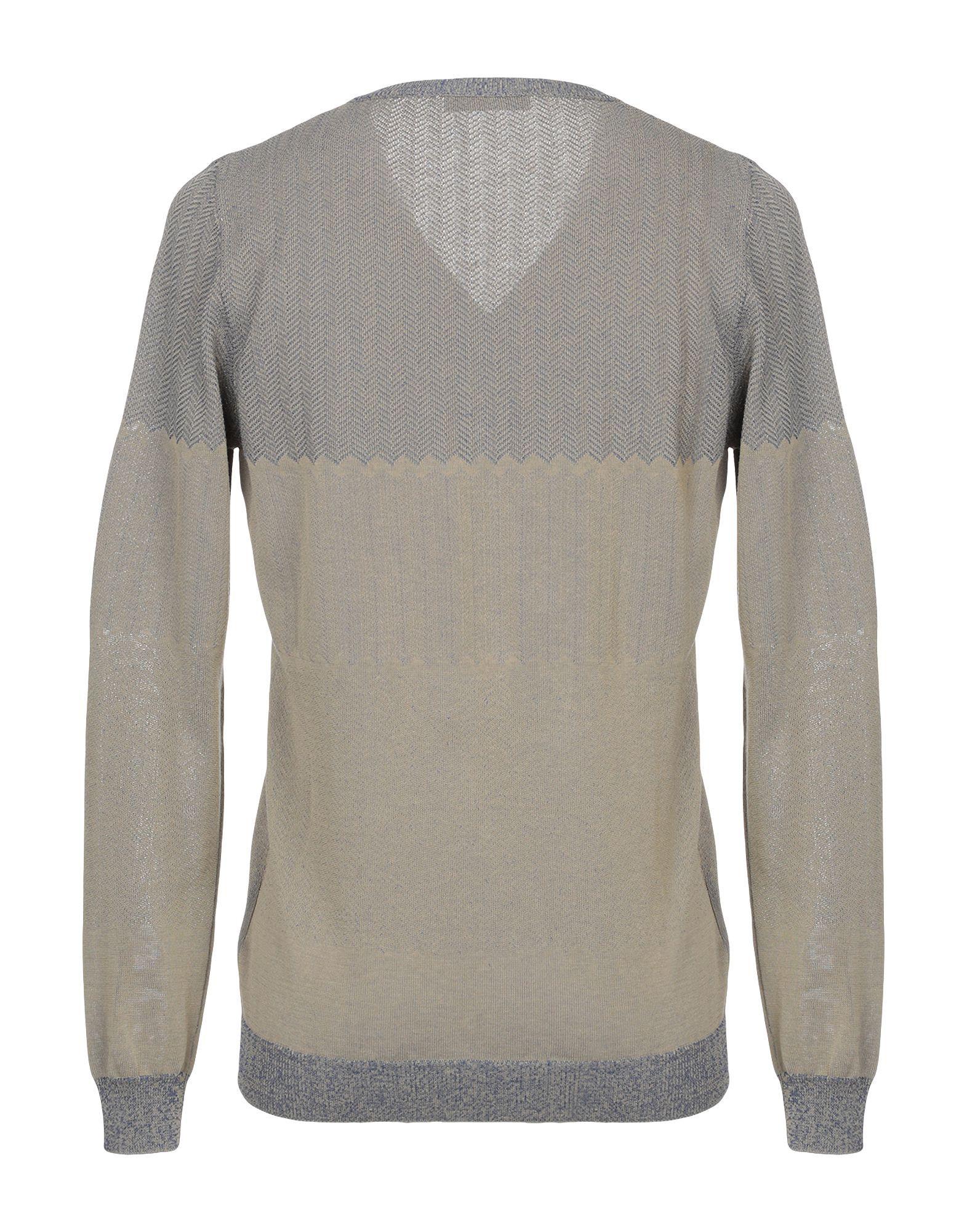 Gabriele Pasini Khaki Cotton Pullover