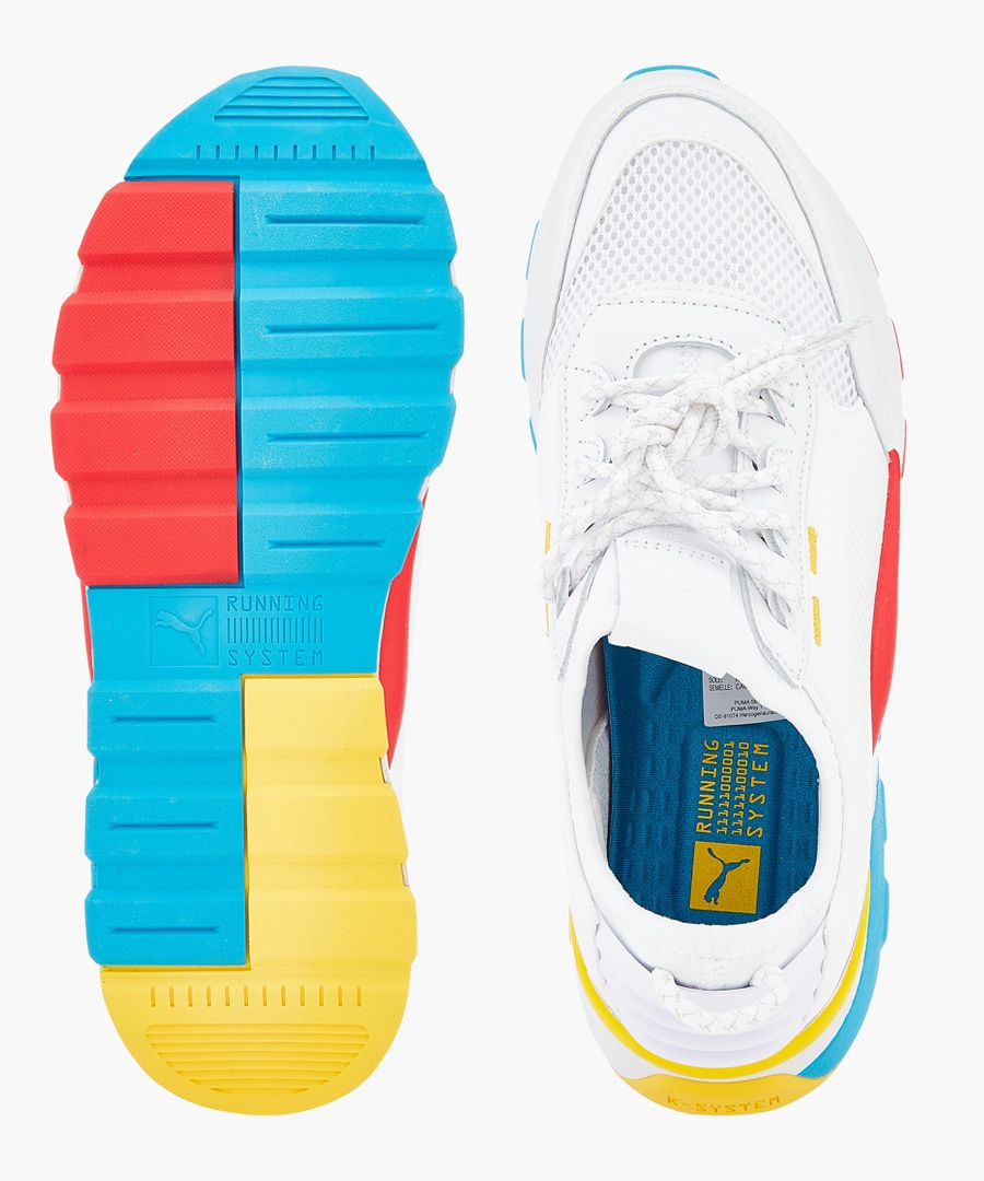 Rs-0 play multi-coloured trainers