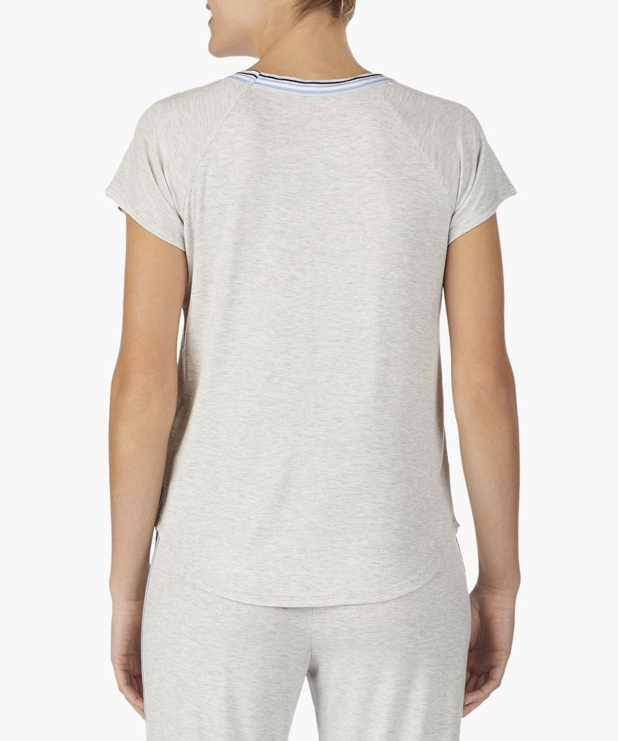 Grey lounge logo T-shirt