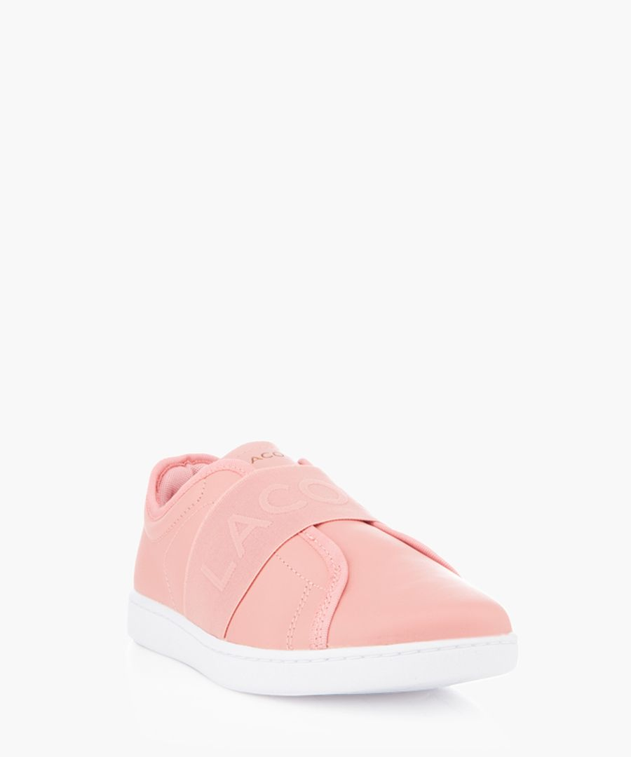 Carnaby Evo Slip rose leather sneakers