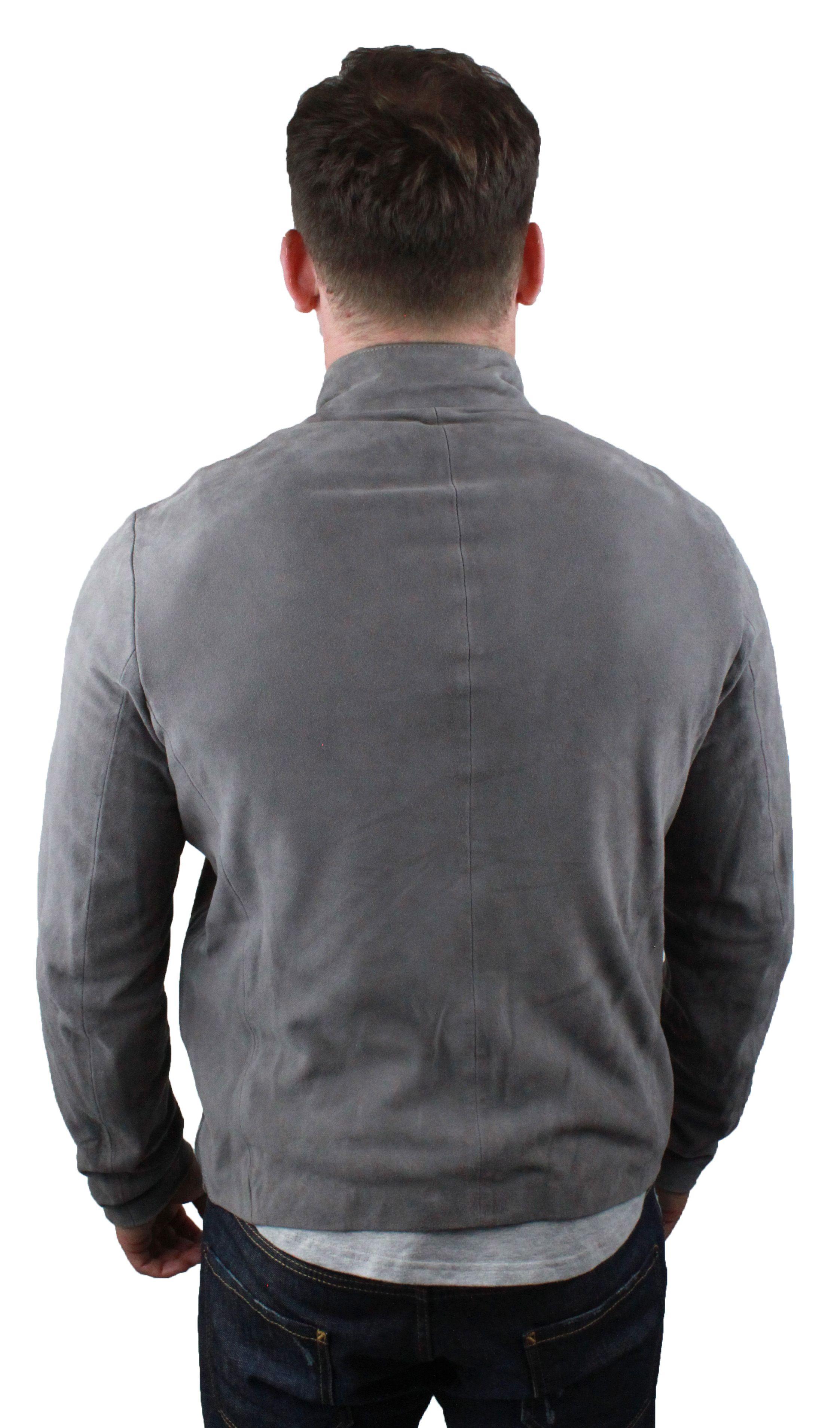 Emporio Armani 3Z1BM7 1LBBZ 0645 Leather Jacket