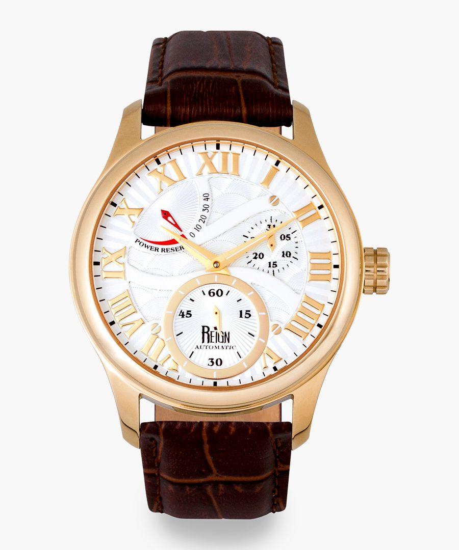 Reign Bhutan brown watch
