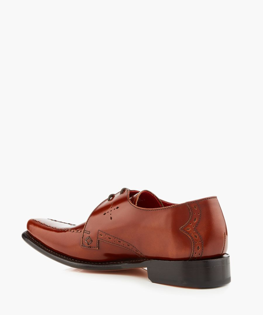 Cocker tan leather Derby shoes