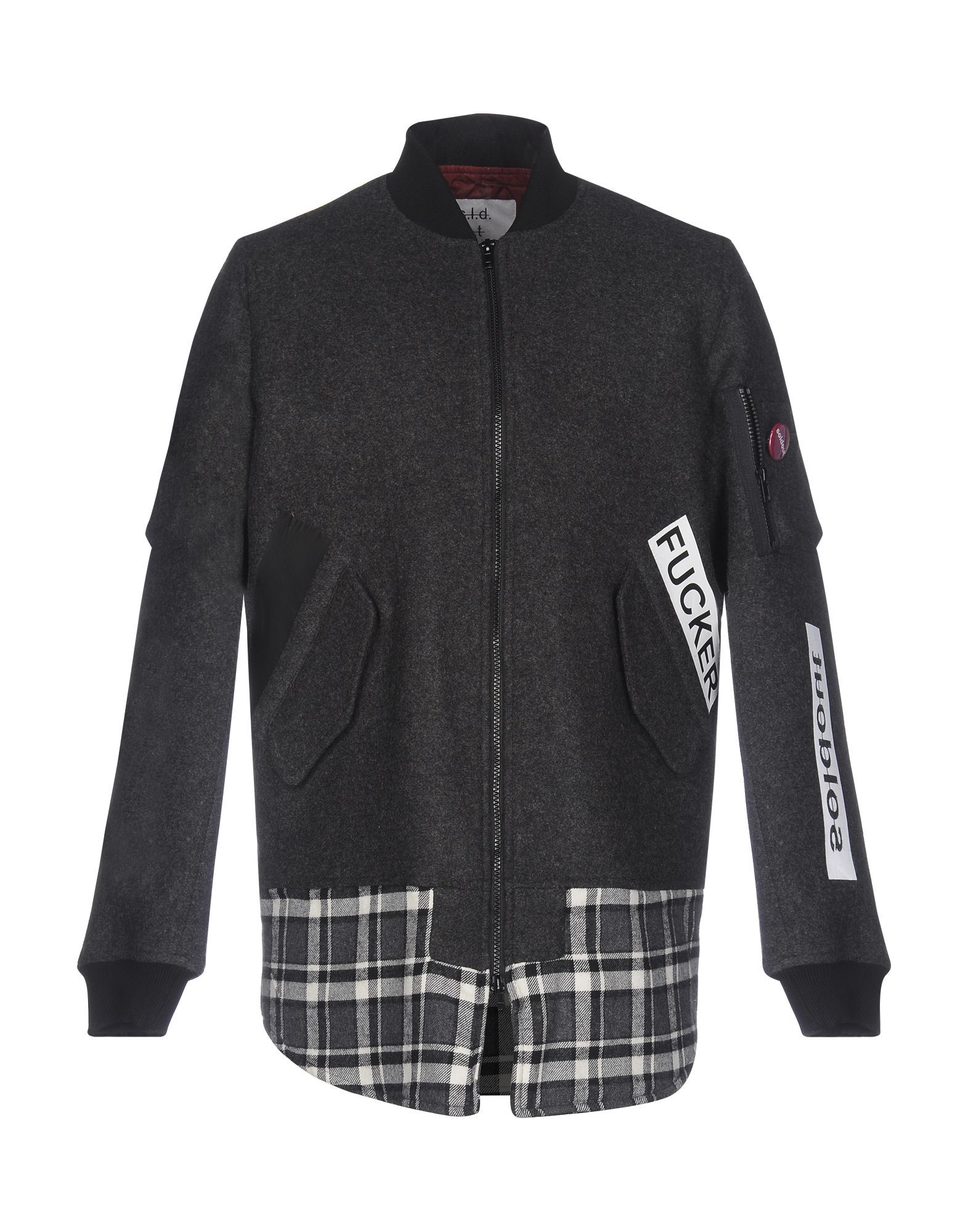 Sold Out Man Steel grey Jackets