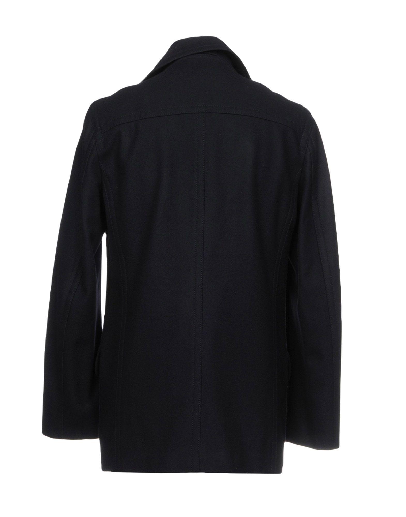 Dkny Man Dark blue Coats