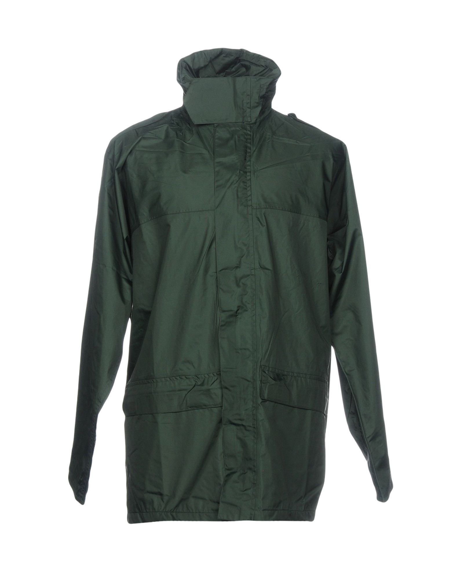 Aspesi Dark Green Techno Fabric Jacket