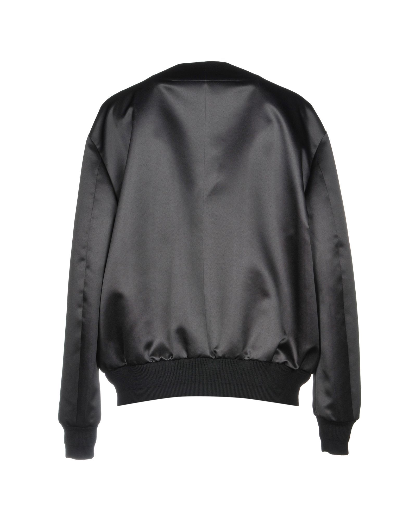 Givenchy Black Print Satin Jacket