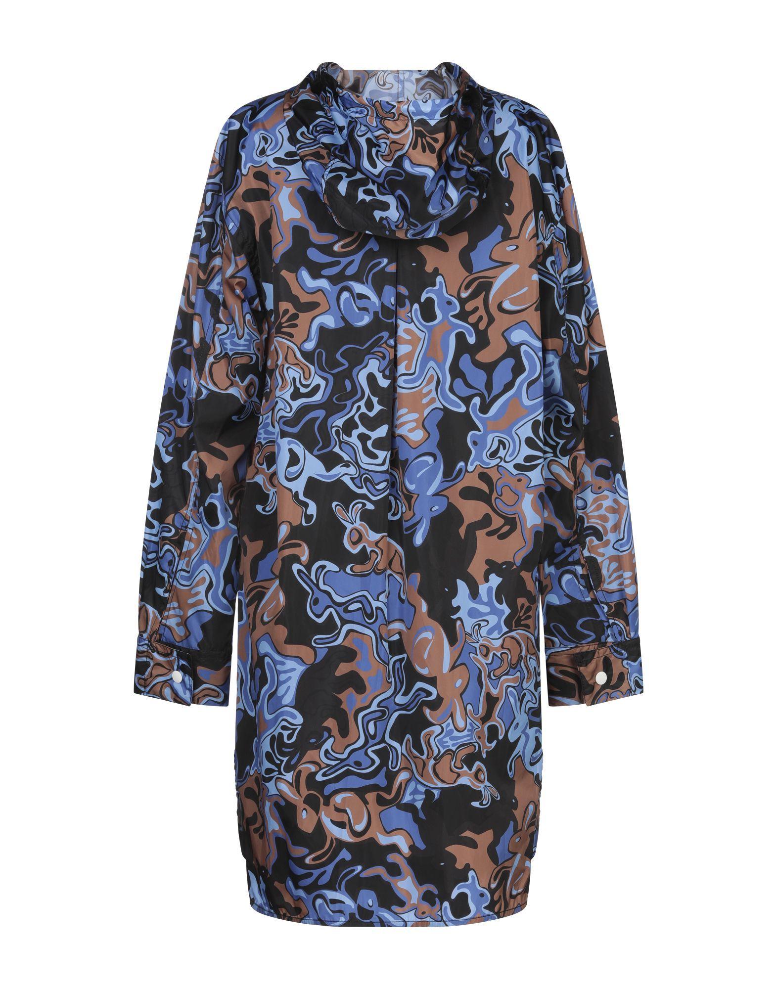 COATS & JACKETS Marni Blue Woman Polyamid