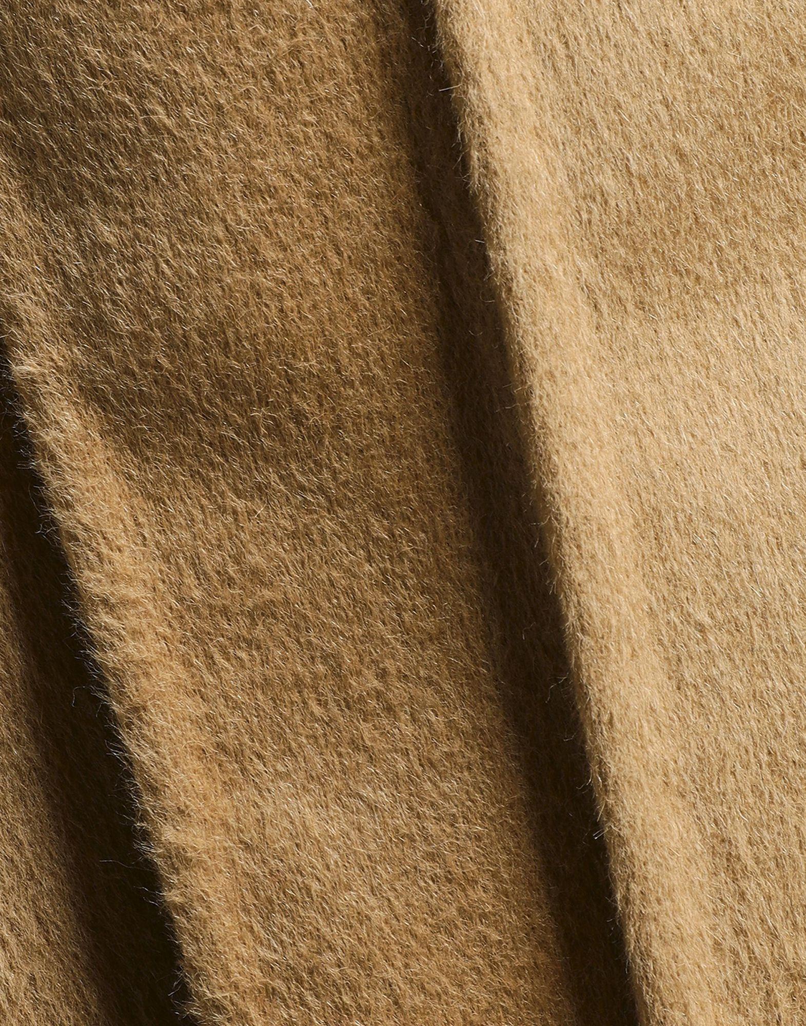 Carolina Herrera Sand Virgin Wool Coat