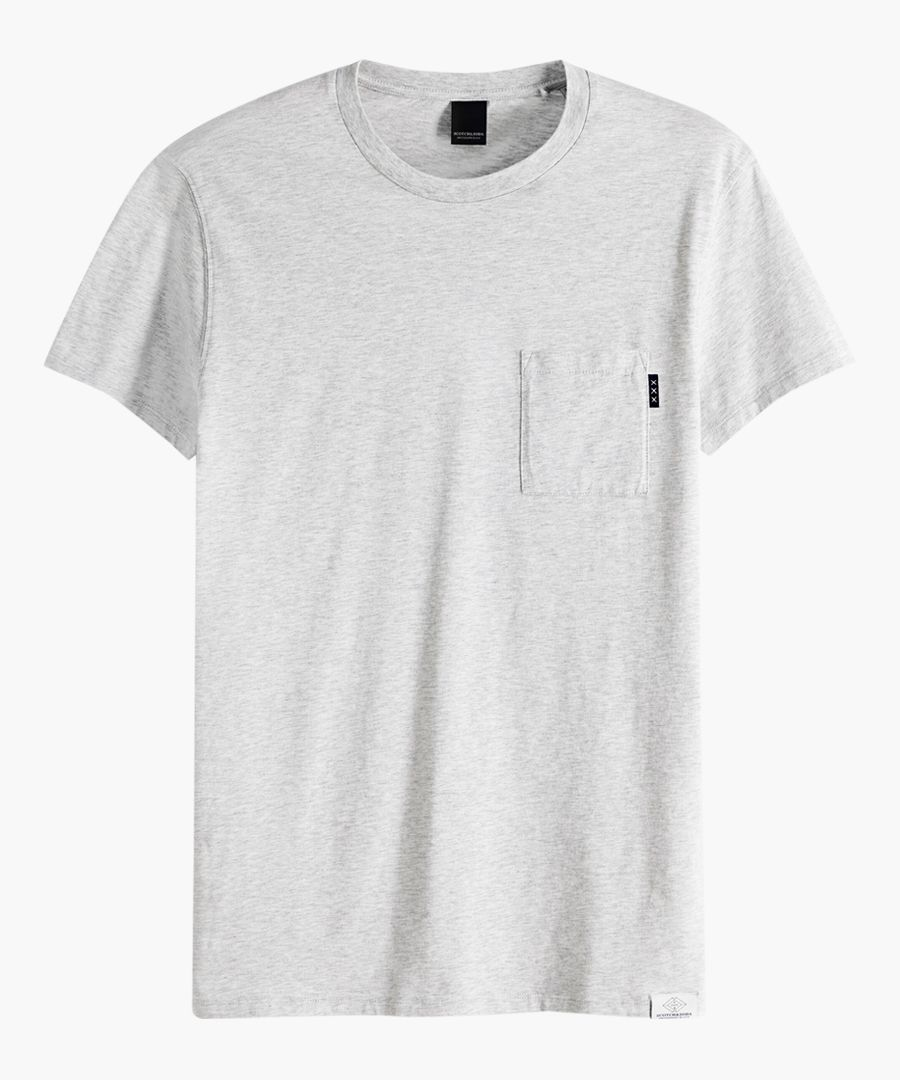 Blauw grey T-shirt