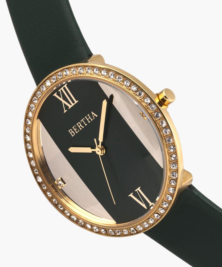 Ingrid green watch