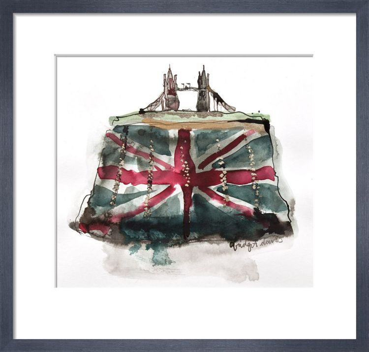 Tower Bridge Clutch by Bridget Davies