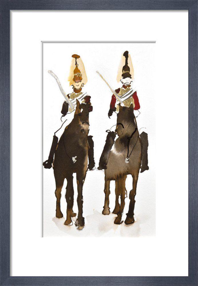 Horse Guards Parade by Bridget Davies