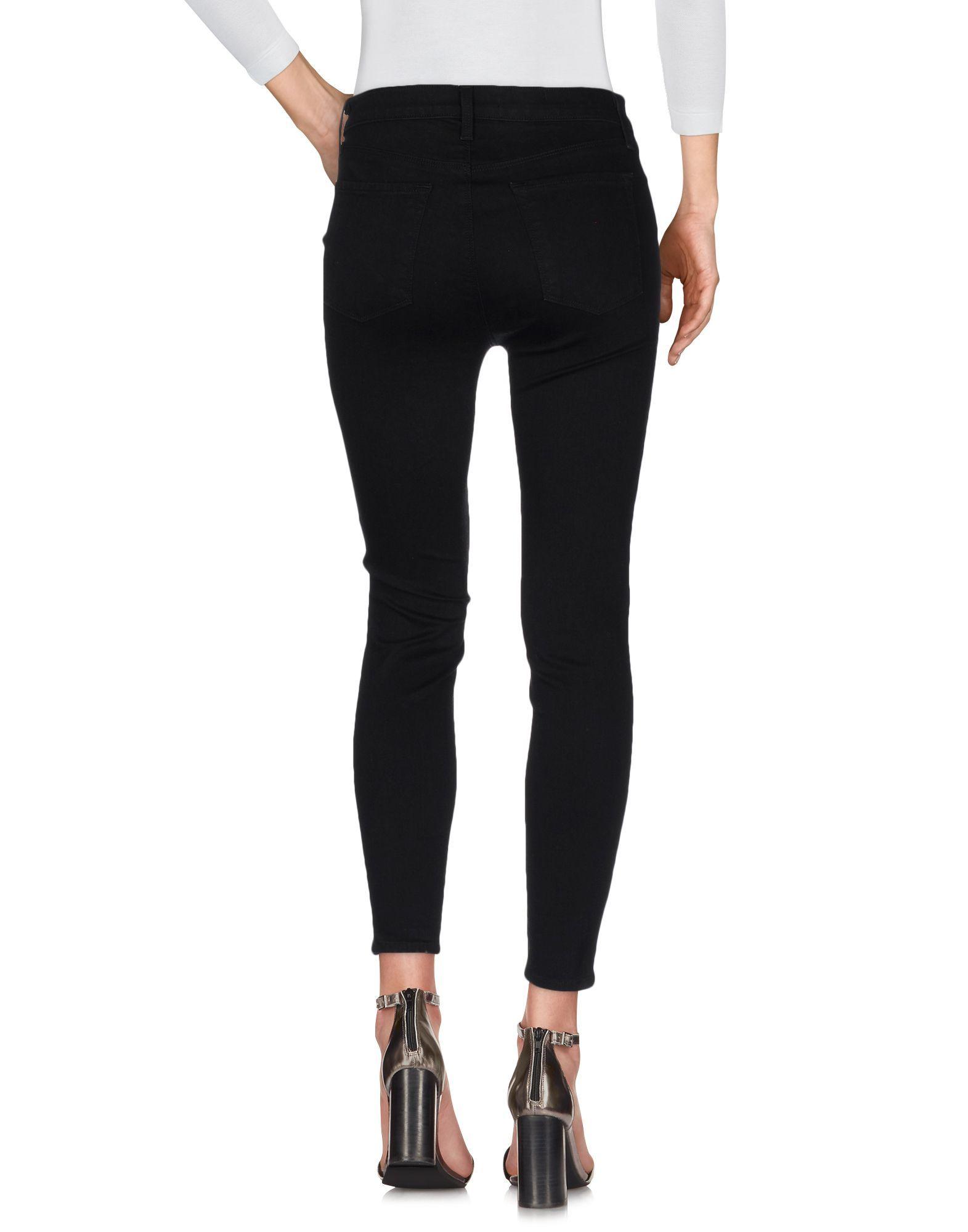J Brand Black Cotton Skinny Jeans