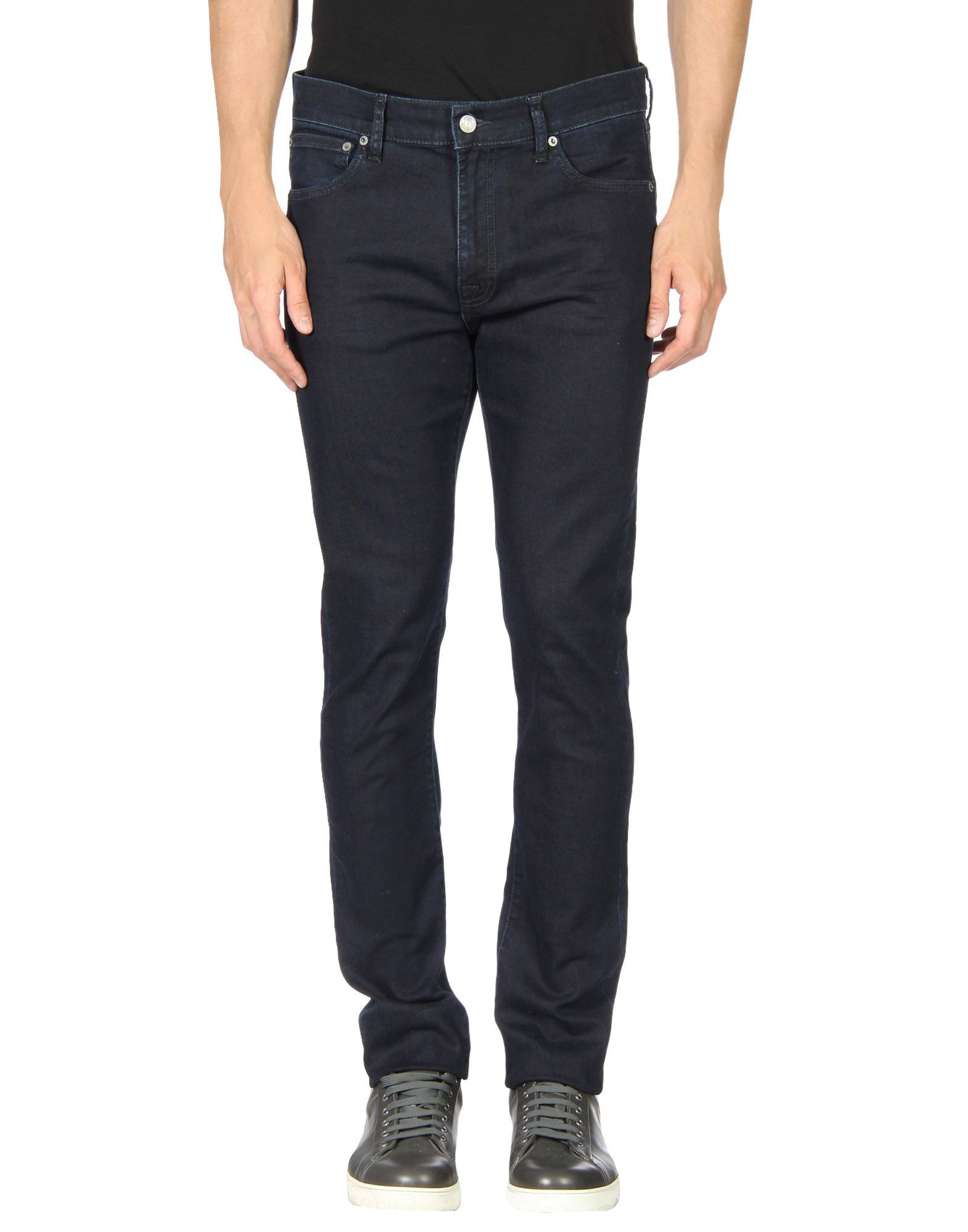 NN07 Blue Cotton Jeans