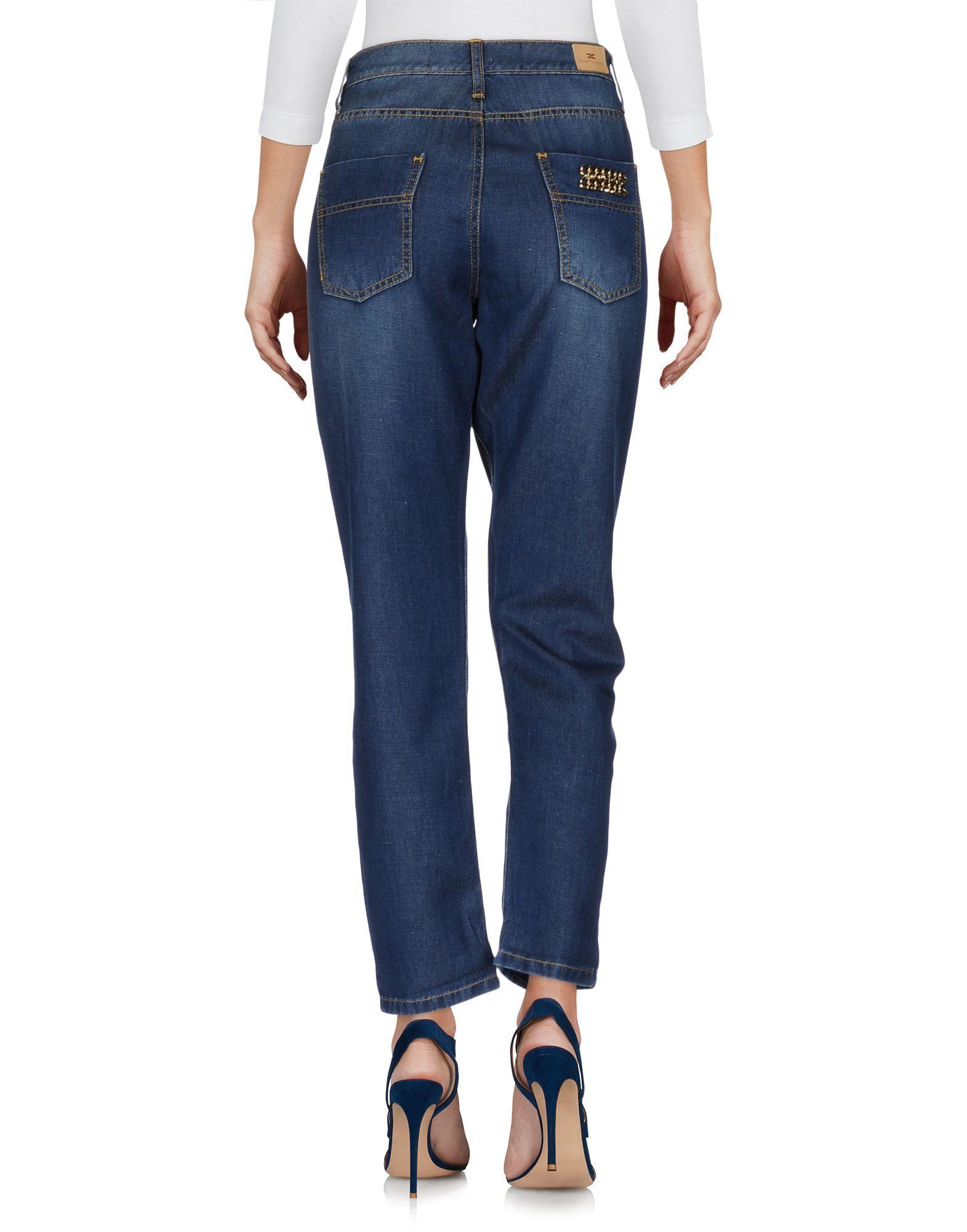 Elisabetta Franchi Jeans Blue Cotton Jeans