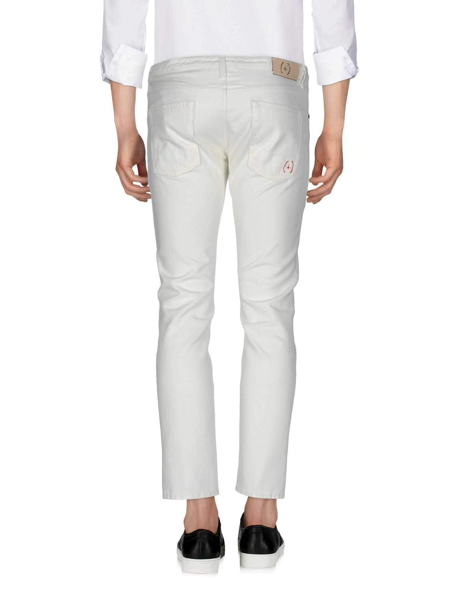 (+) People White Cotton Jeans