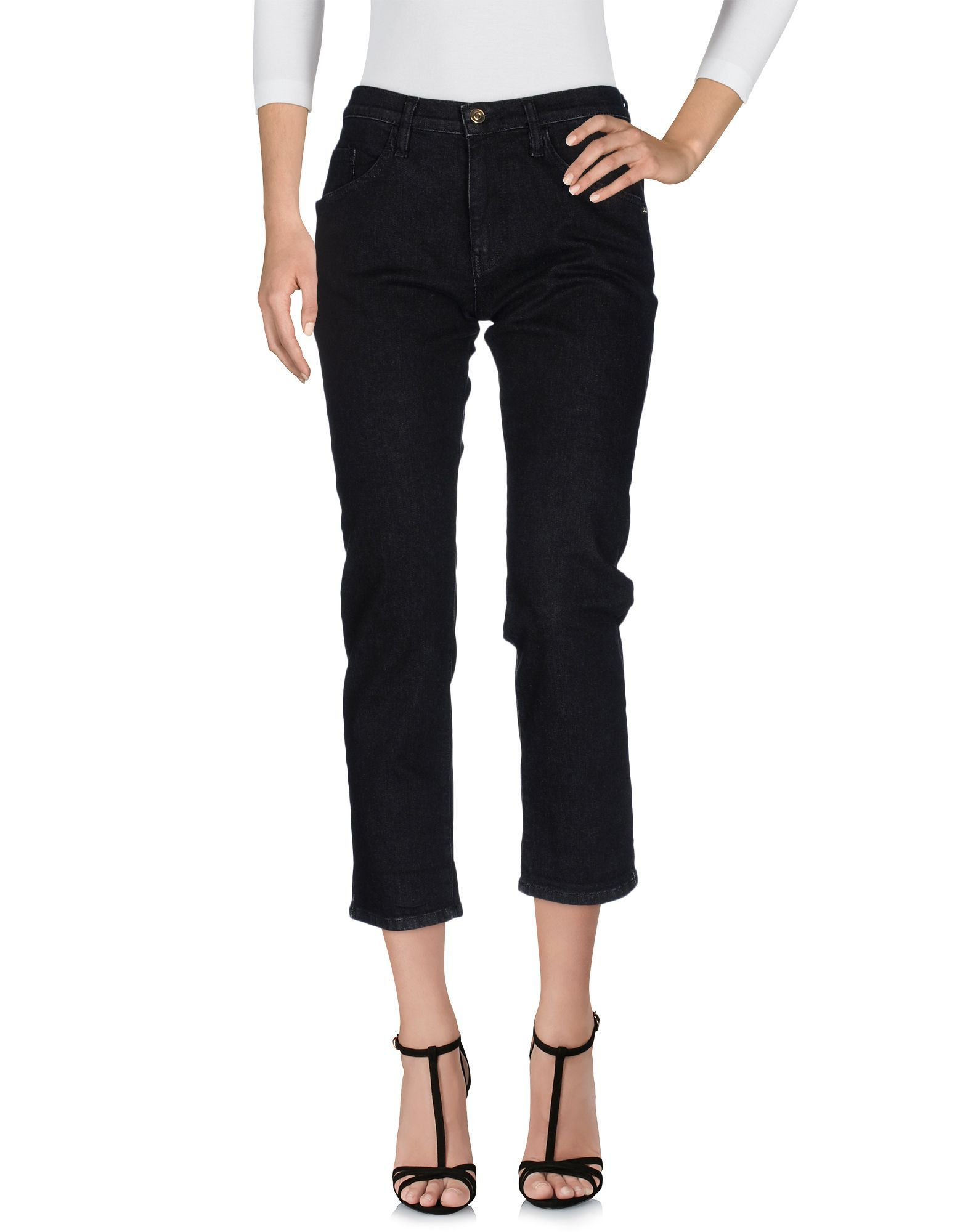 Carla G. Woman Black Denim trousers