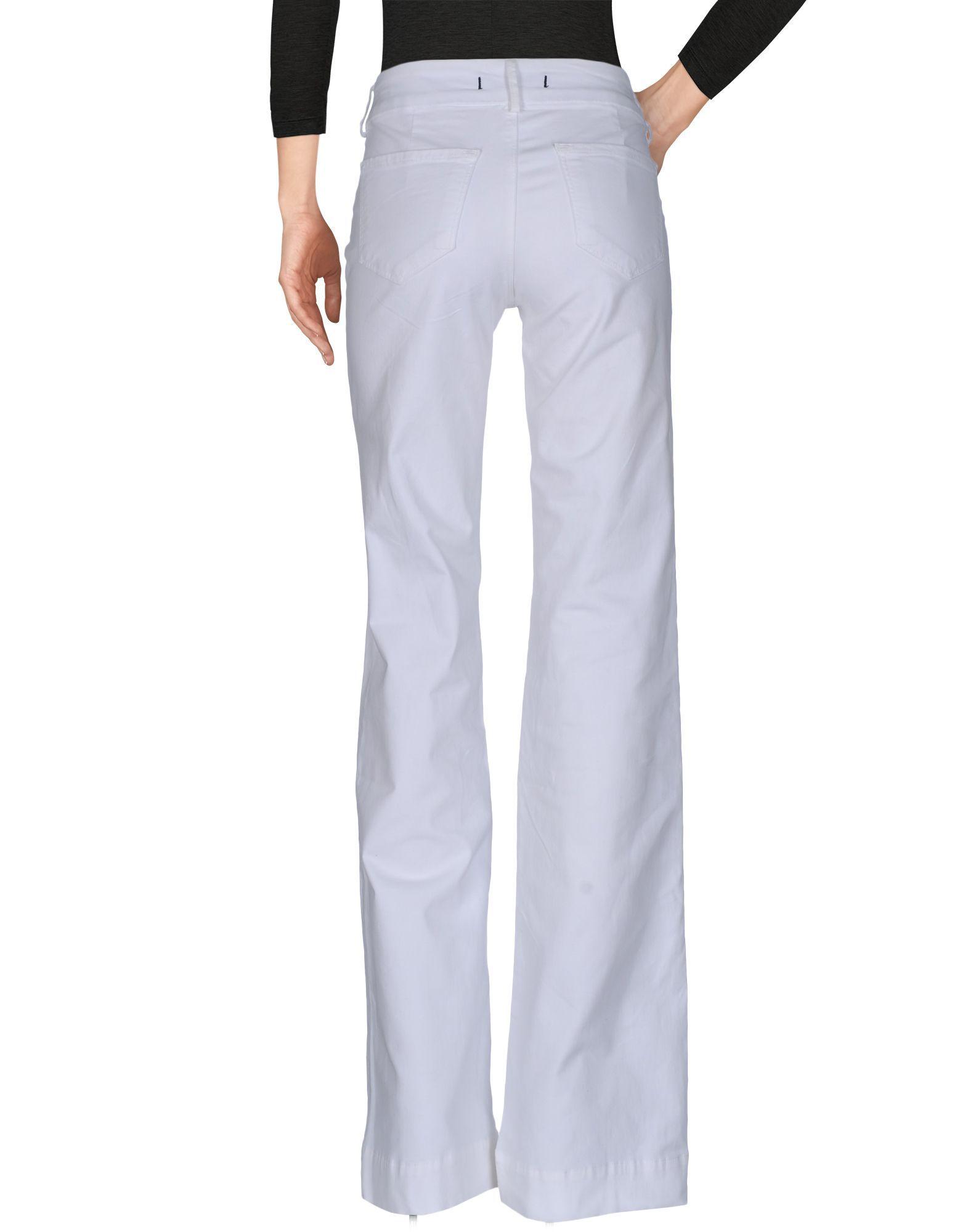 J Brand White Cotton Jeans