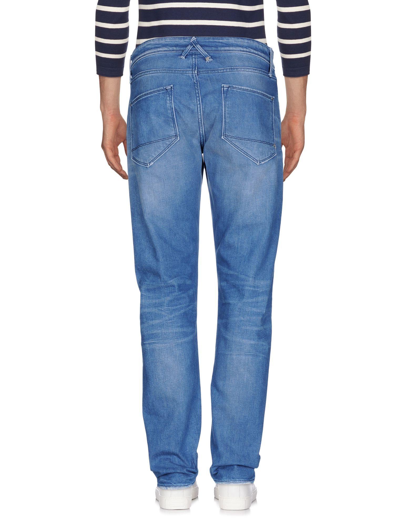 Cycle Blue Cotton Jeans