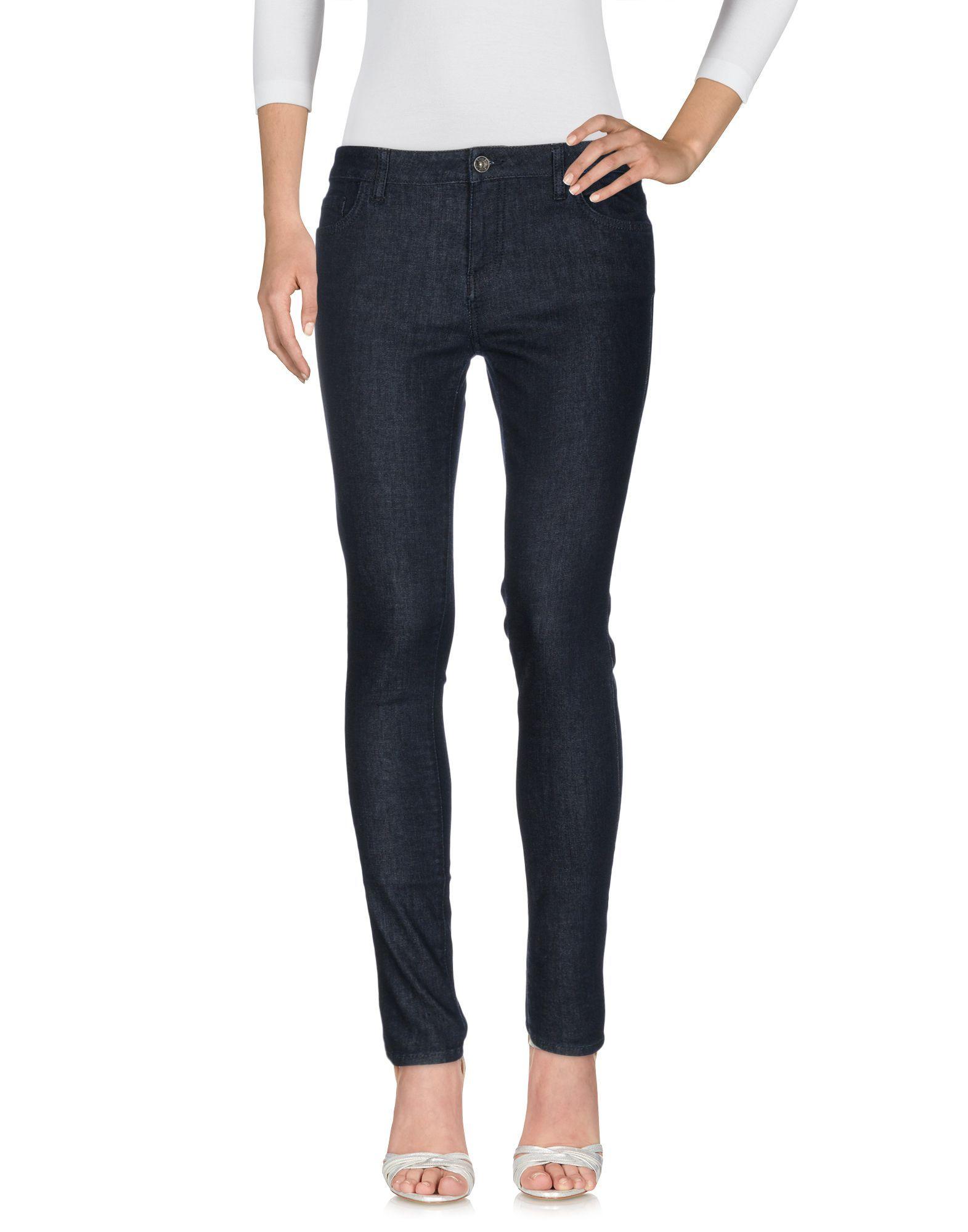 Vans Blue Cotton Skinny Jeans