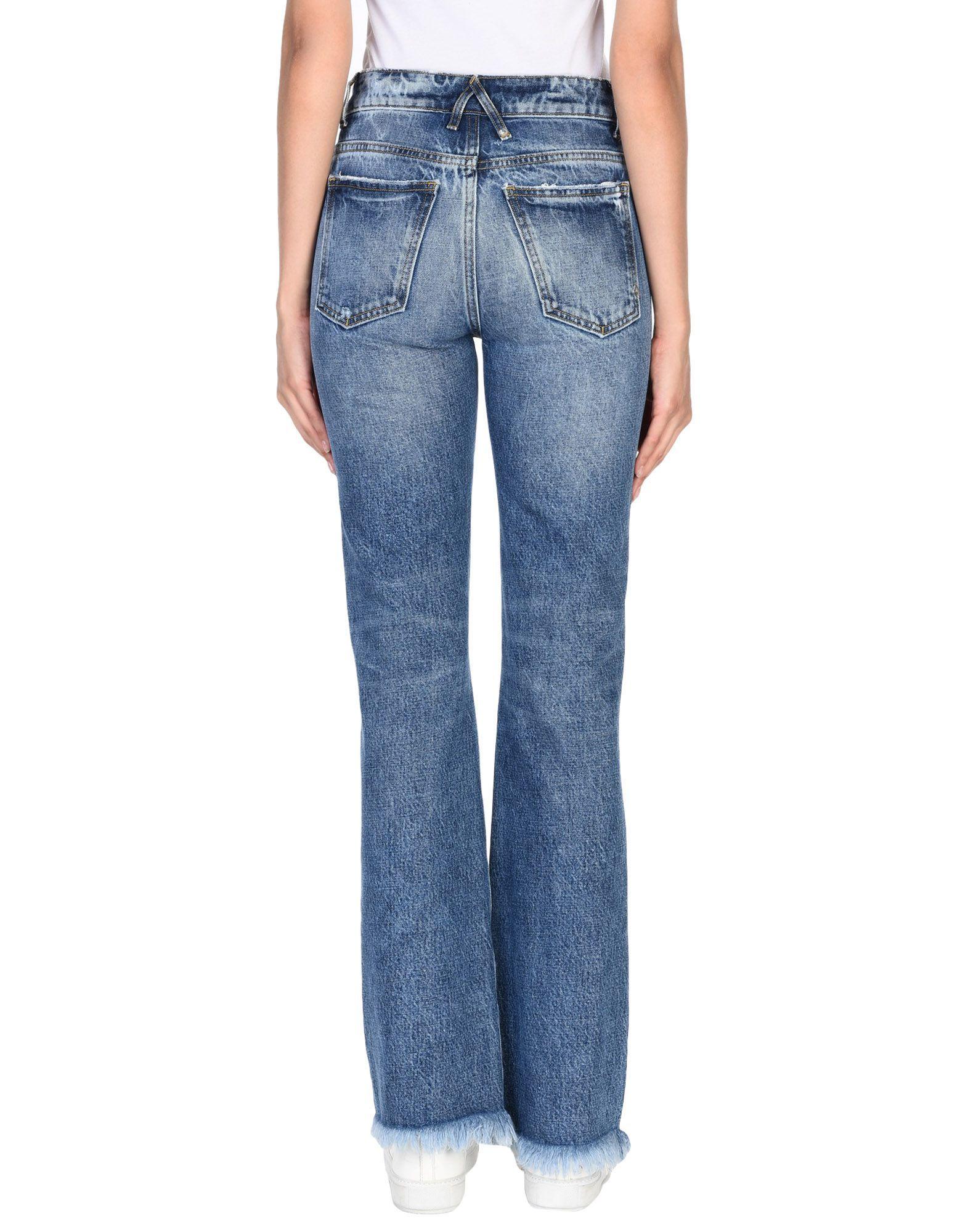 Cycle Blue Cotton Medium Wash Jeans