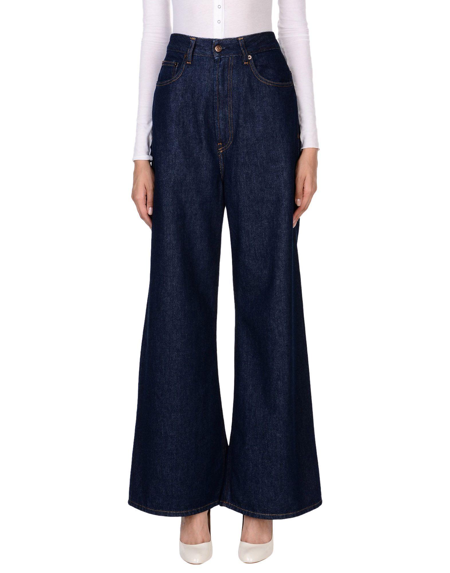 Mauro Grifoni Blue Cotton Pantaloni jeans