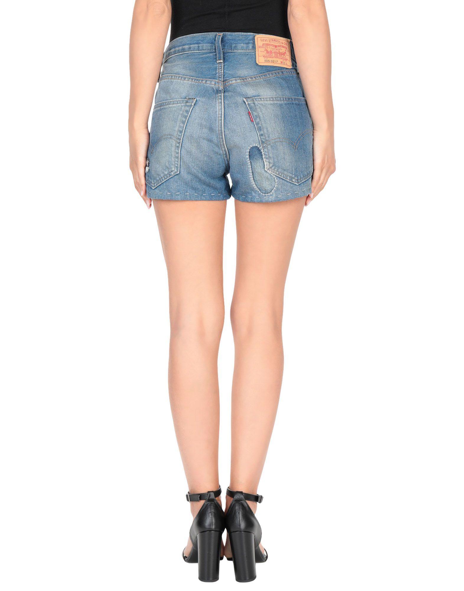 Levi's Blue Denim Shorts