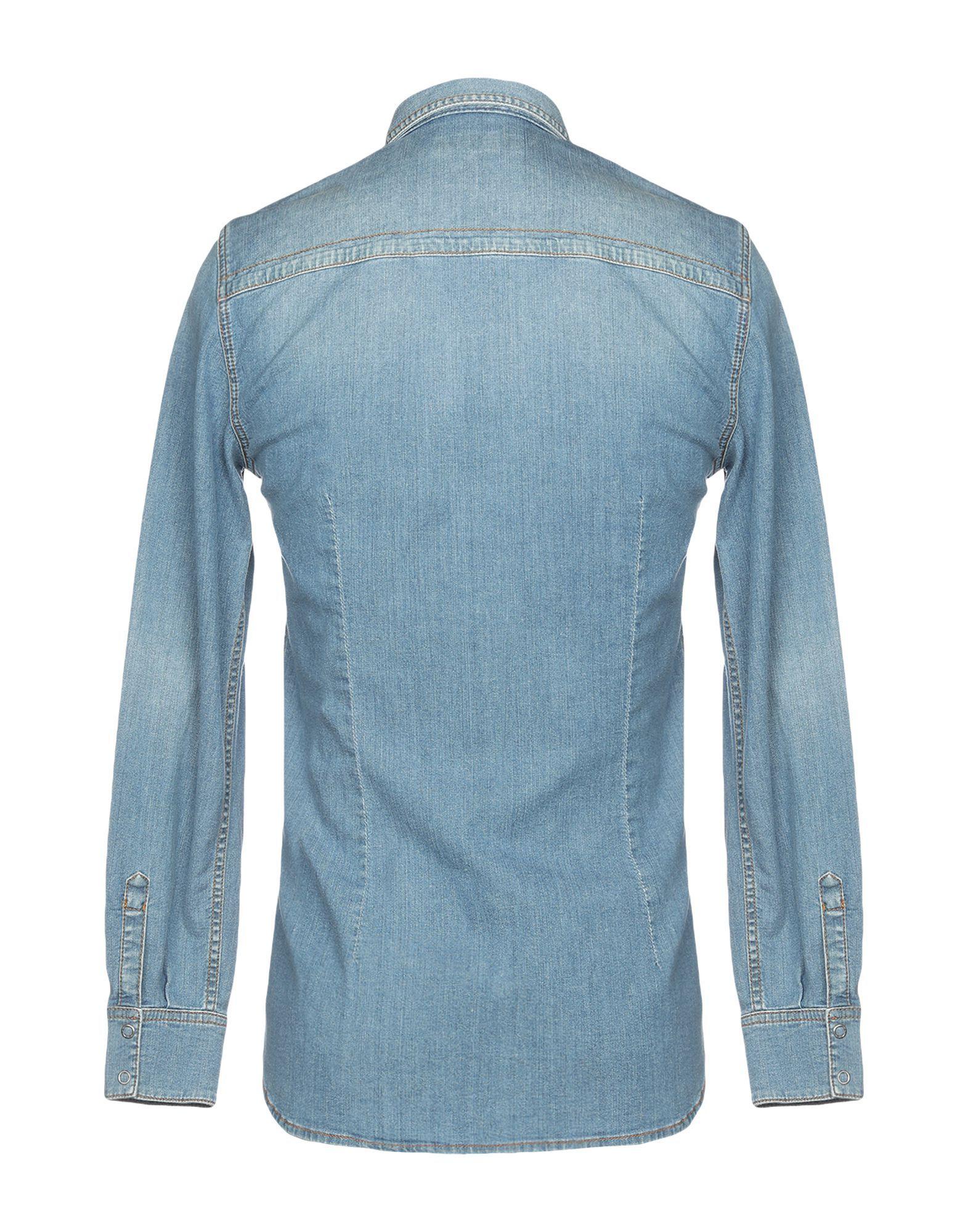 DENIM Bikkembergs Blue Man Cotton