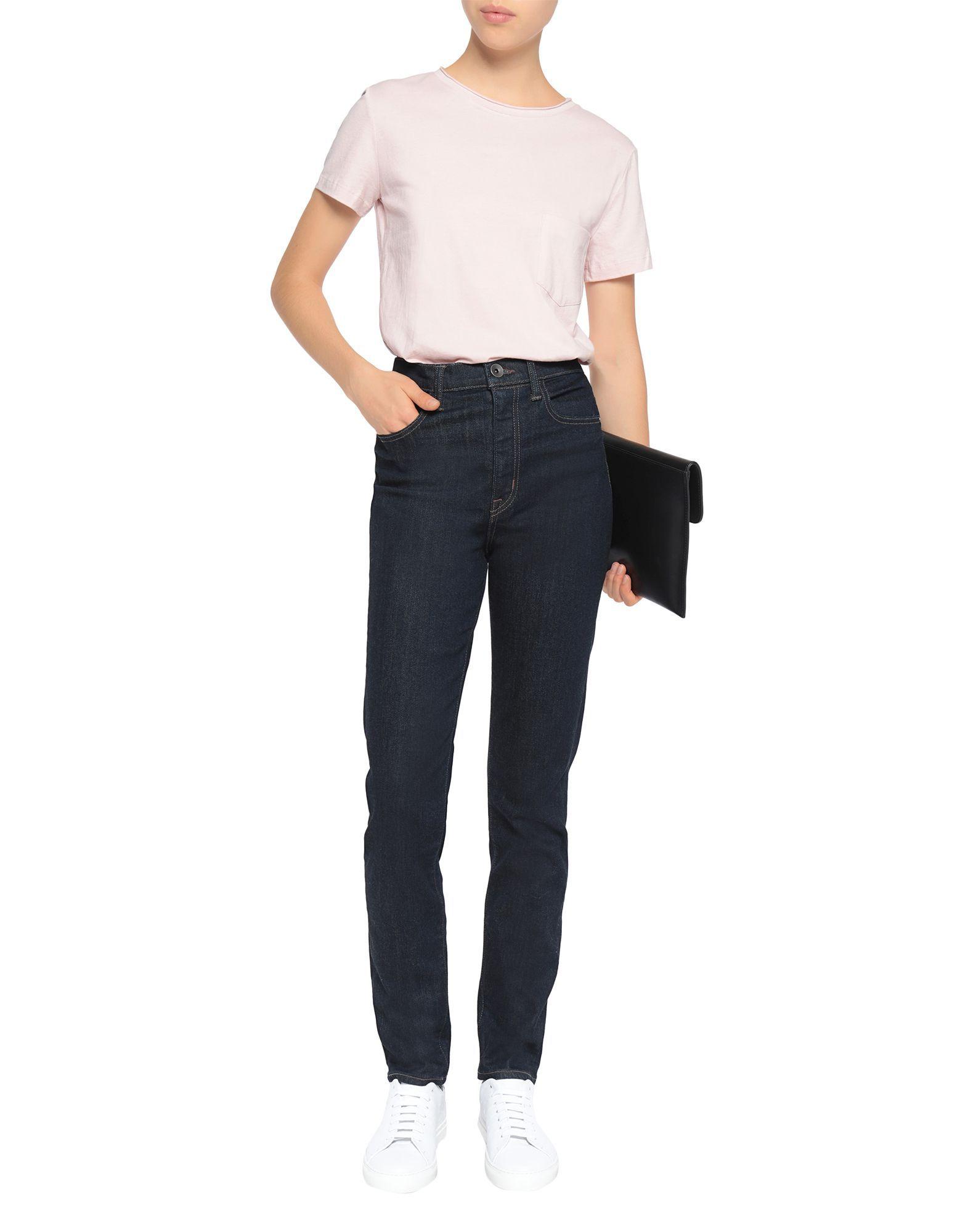 Helmut Lang Blue Cotton Jeans