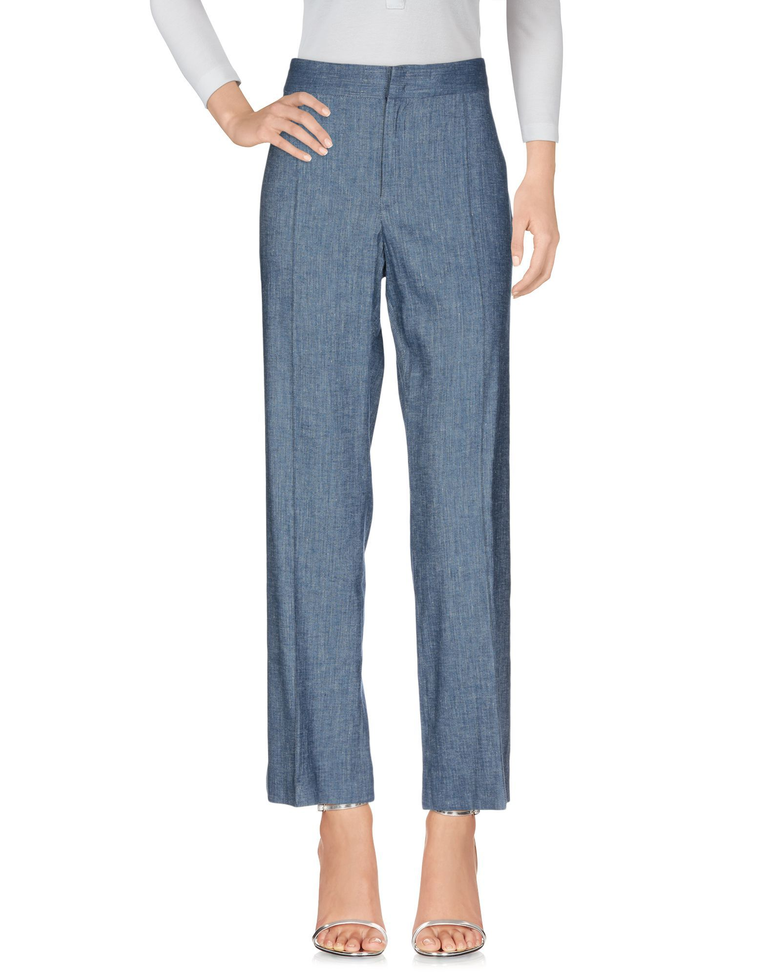 Isabel Marant Etoile Blue Linen Trousers