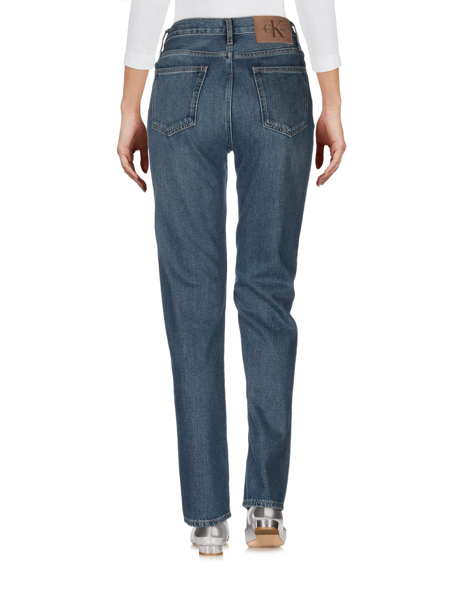 Calvin Klein Jeans Blue Cotton Jeans