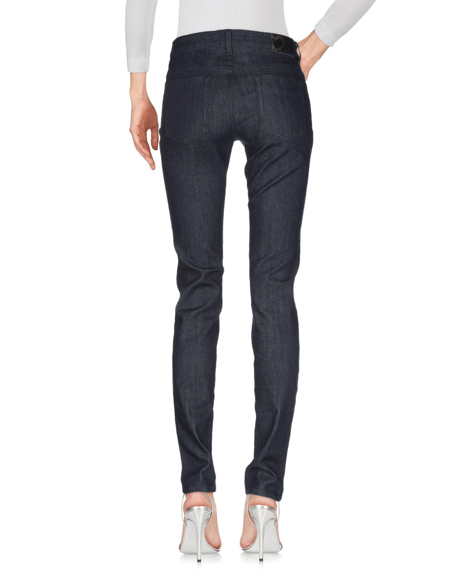 Twin-Set Jeans Blue Cotton Dark Wash Jeans