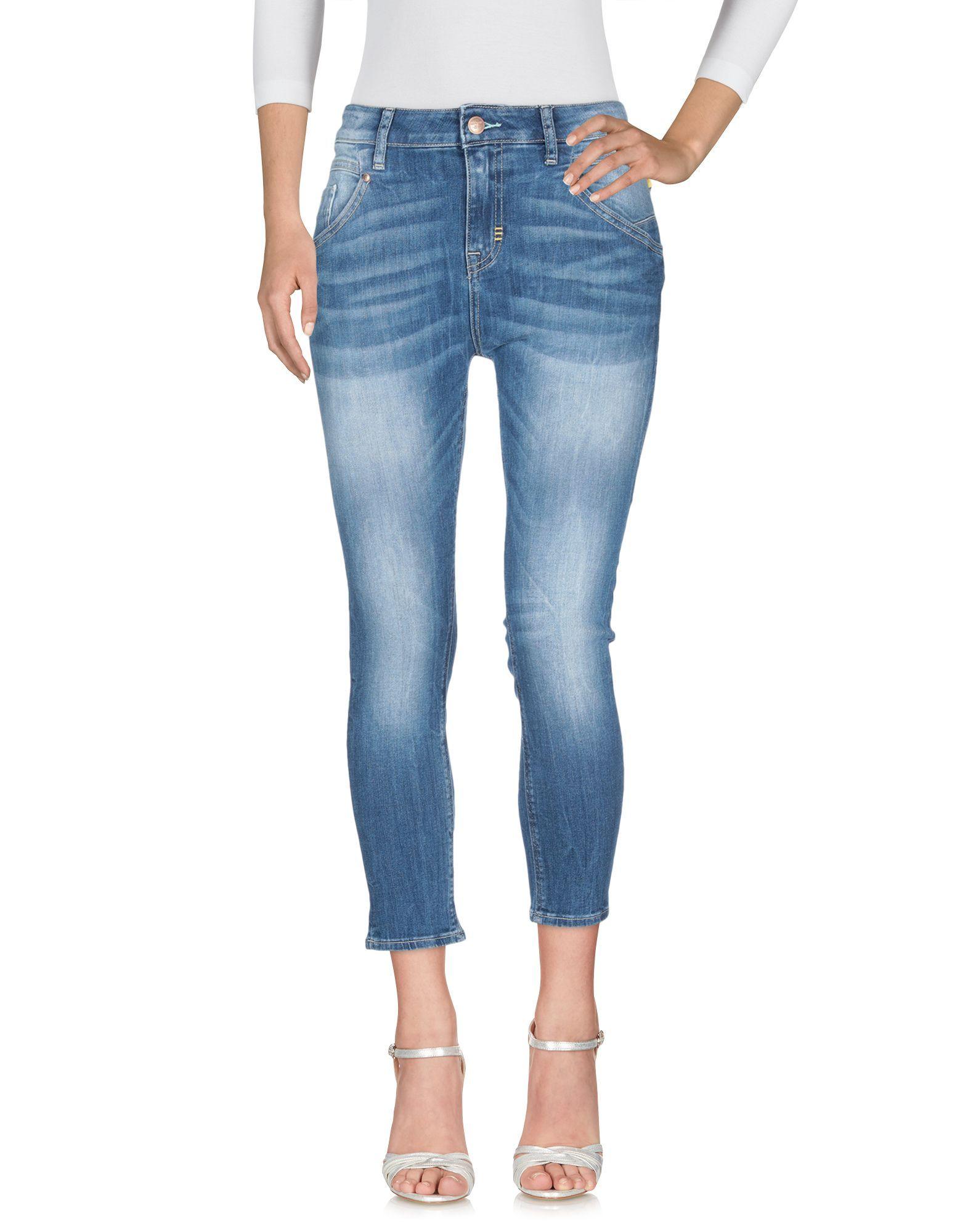 Meltin Pot Blue Cotton Jeans