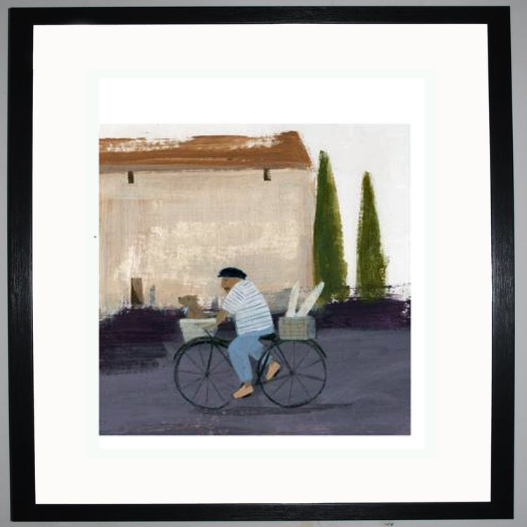 Back to the Market Art Print by Hannah Cole