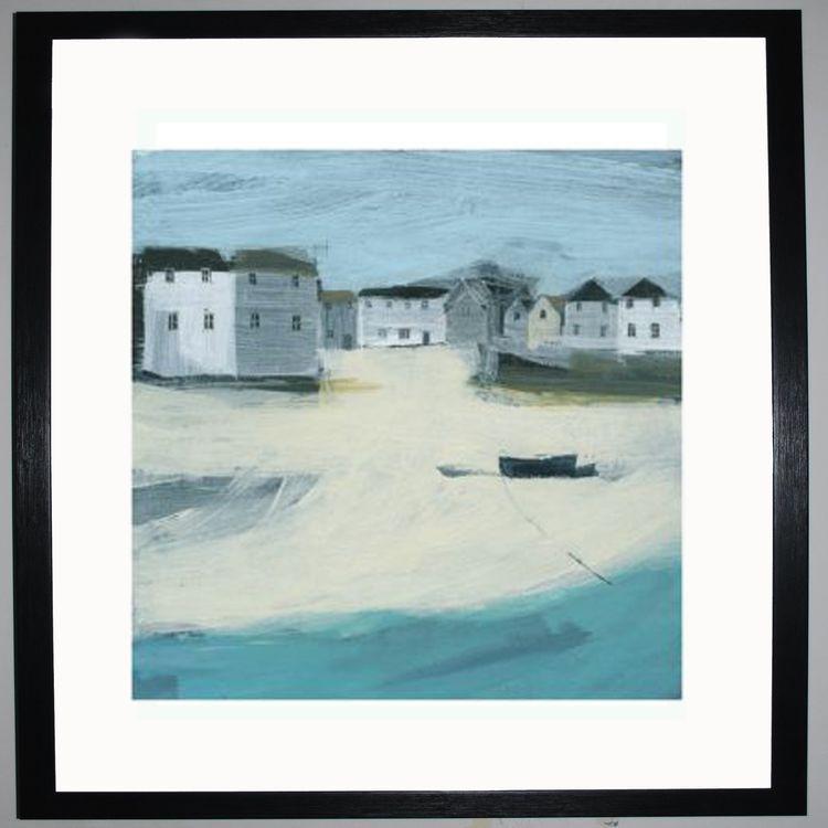 Across the Sand Art Print by Hannah Cole
