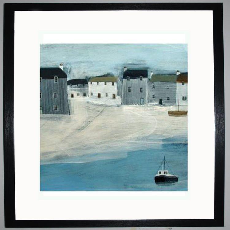 Sailing Away Art Print by Hannah Cole