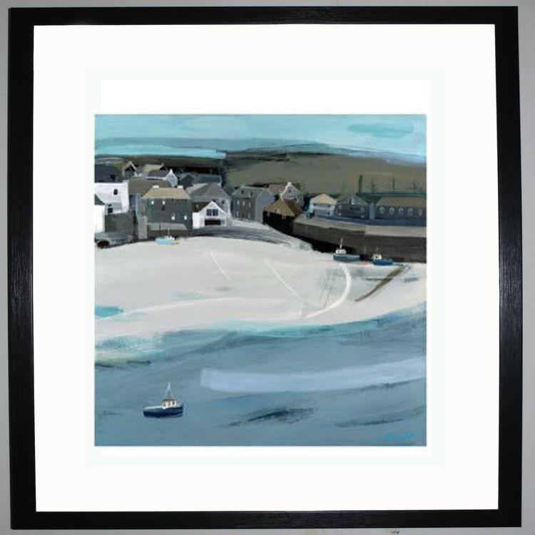 Corner of the Beach Art Print by Hannah Cole