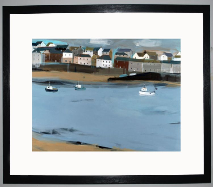 St Ives Art Print by Hannah Cole